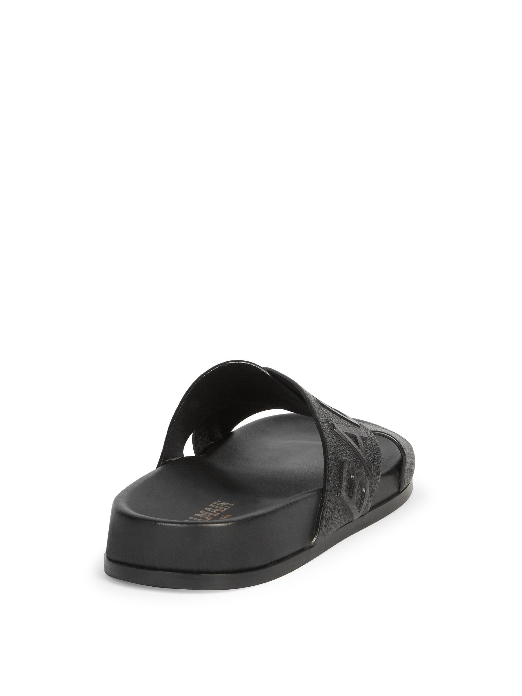 BalmainLogo Cross Sandals v4gBjWZ8sY