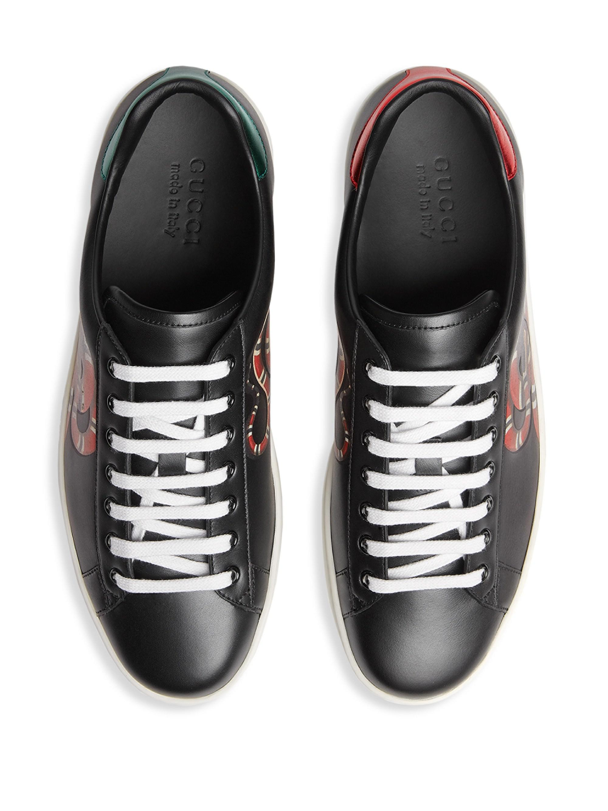 e44810b54cf Gucci Sneakers in Black for Men - Save 11% - Lyst