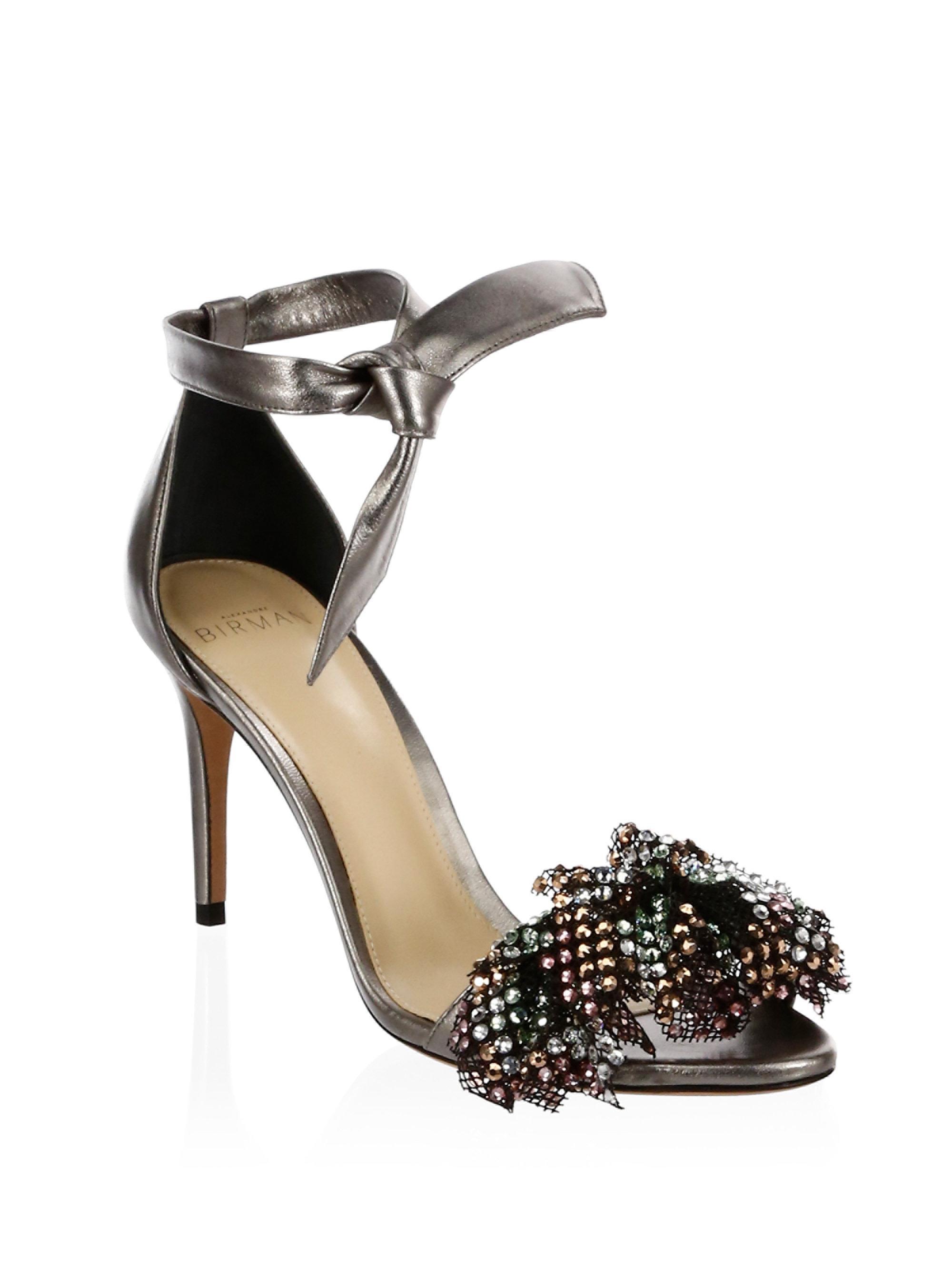 Clarita Show sandals - Metallic Alexandre Birman Clearance Recommend Ez05AM16