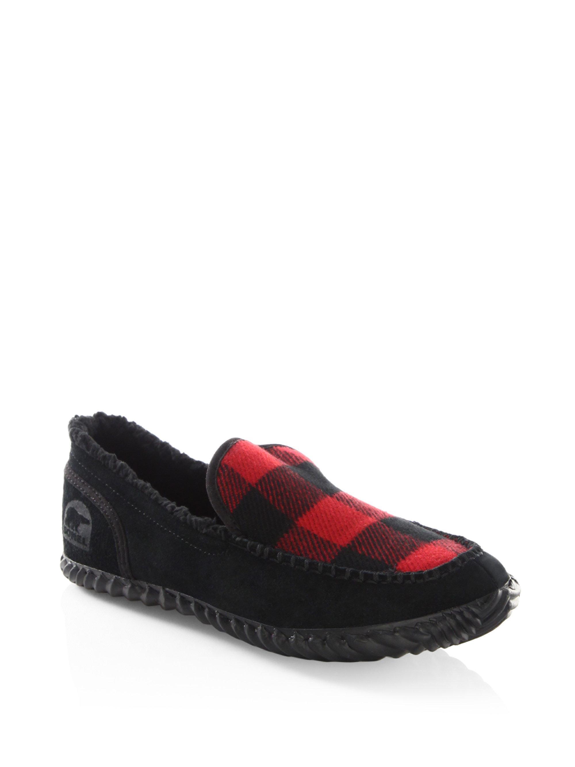 sorel Plaid Slip-On Sneakers LPJyjcwpc