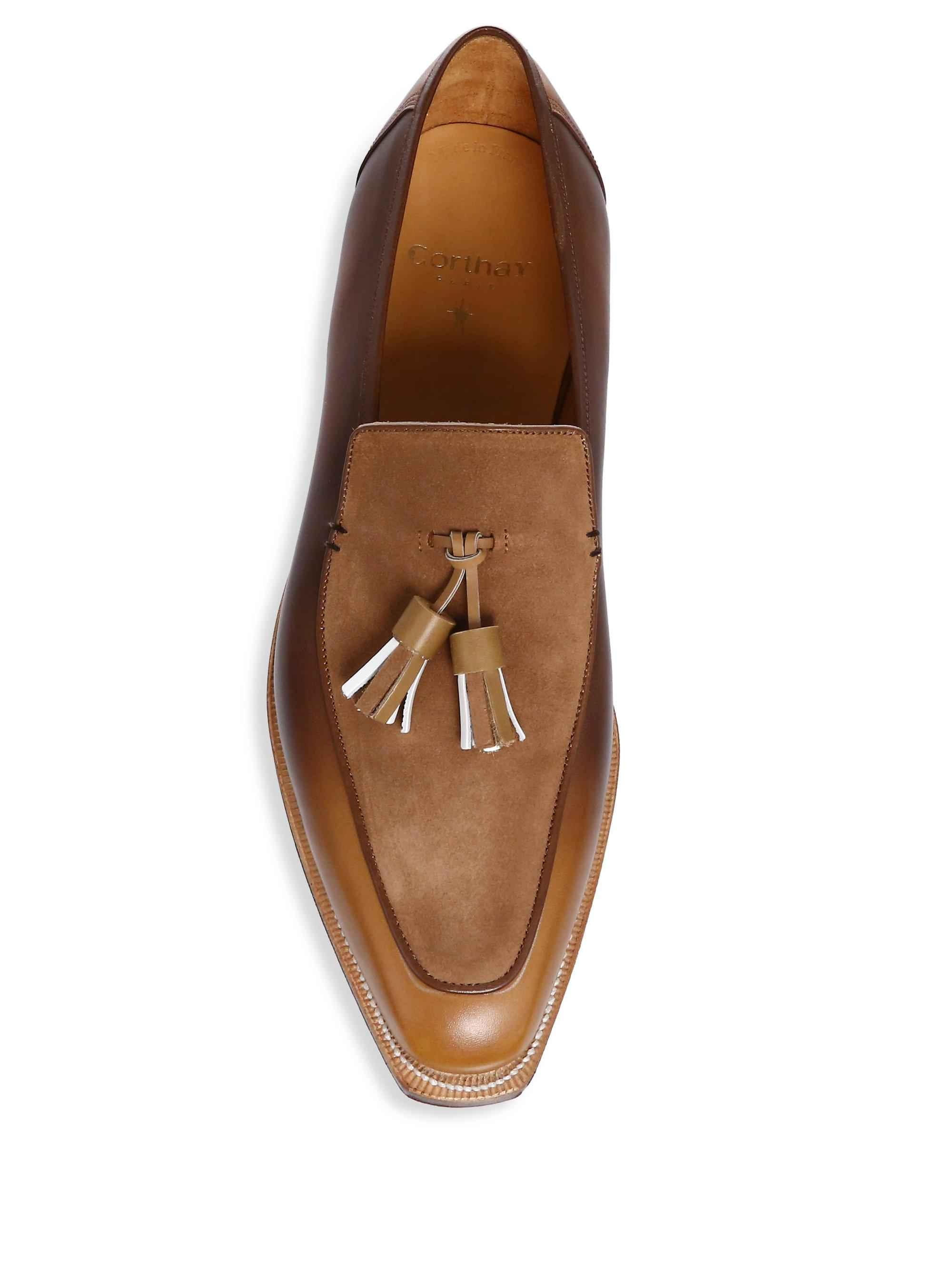 CORTHAY Dover Tassel Loafers EEuDin