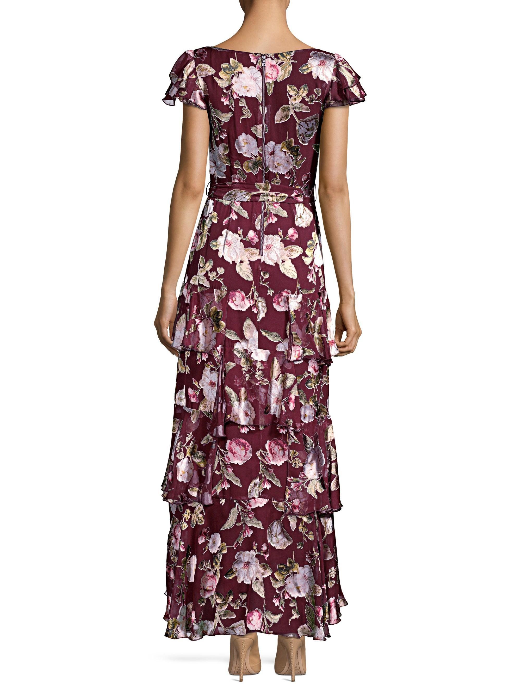 b8012809944f Alice + Olivia Jenny Flutter Sleeve Ruffle Dress - Lyst
