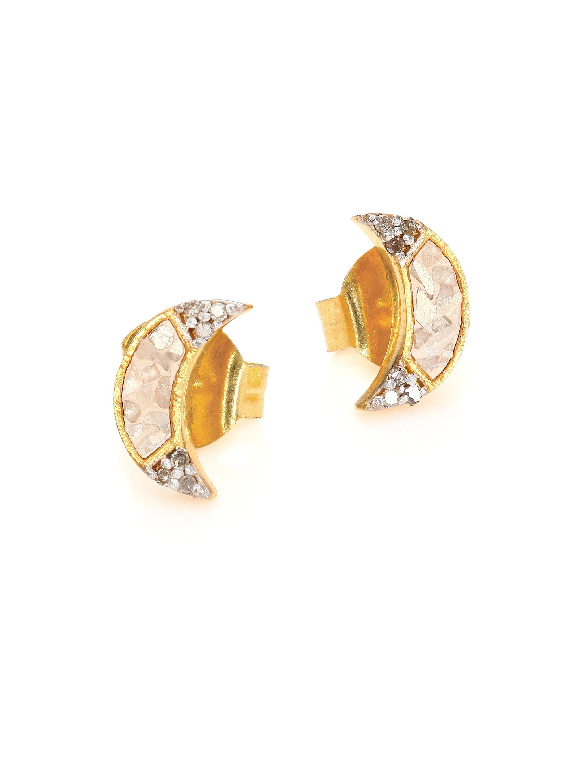 small silver diamond diamonds erosion champagne reeves products studs jenny earrings