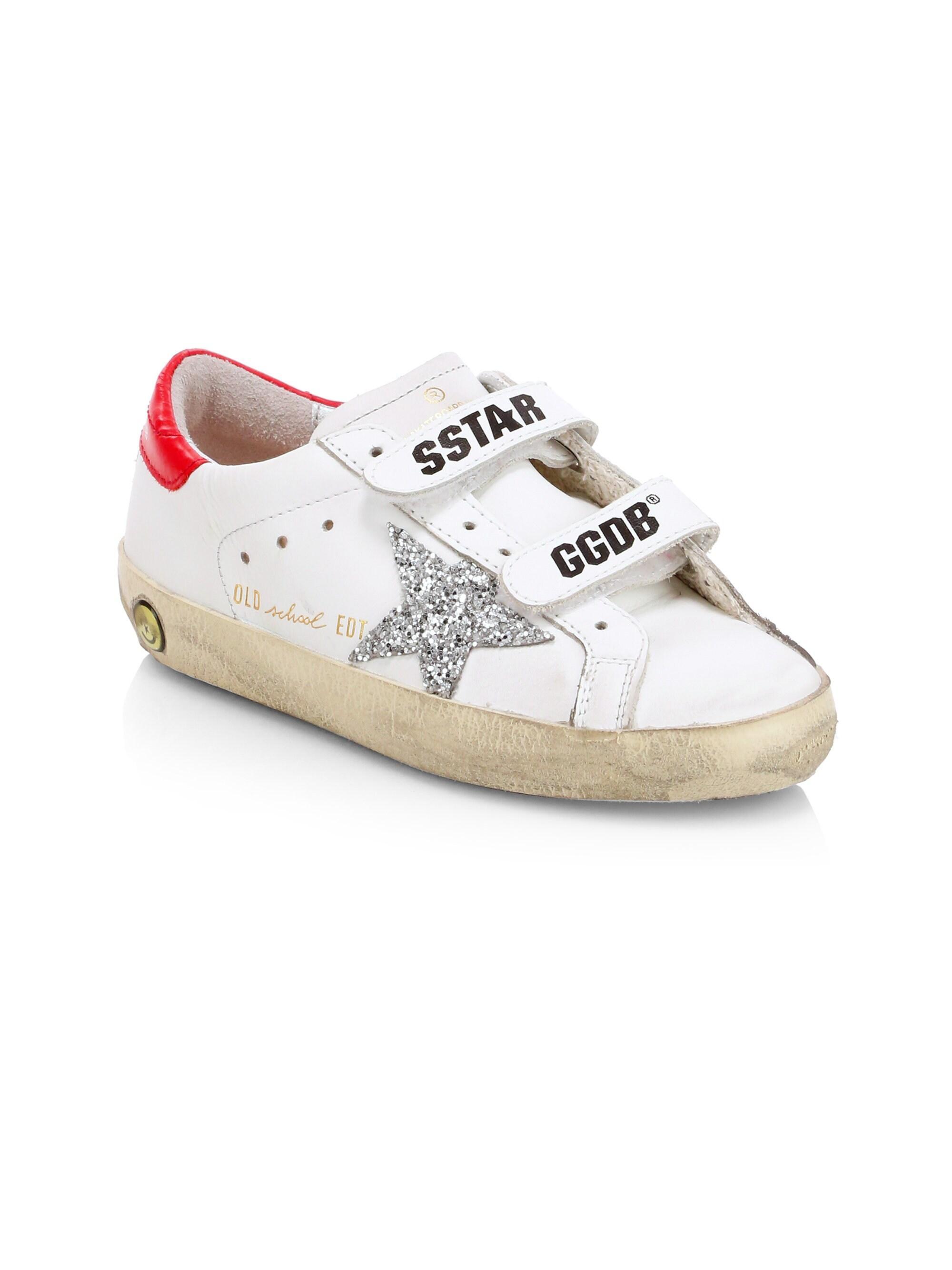 64cb3d6ebb0 Golden Goose Deluxe Brand. Men s Baby s   Kid s Old School Leather Sneakers  ...