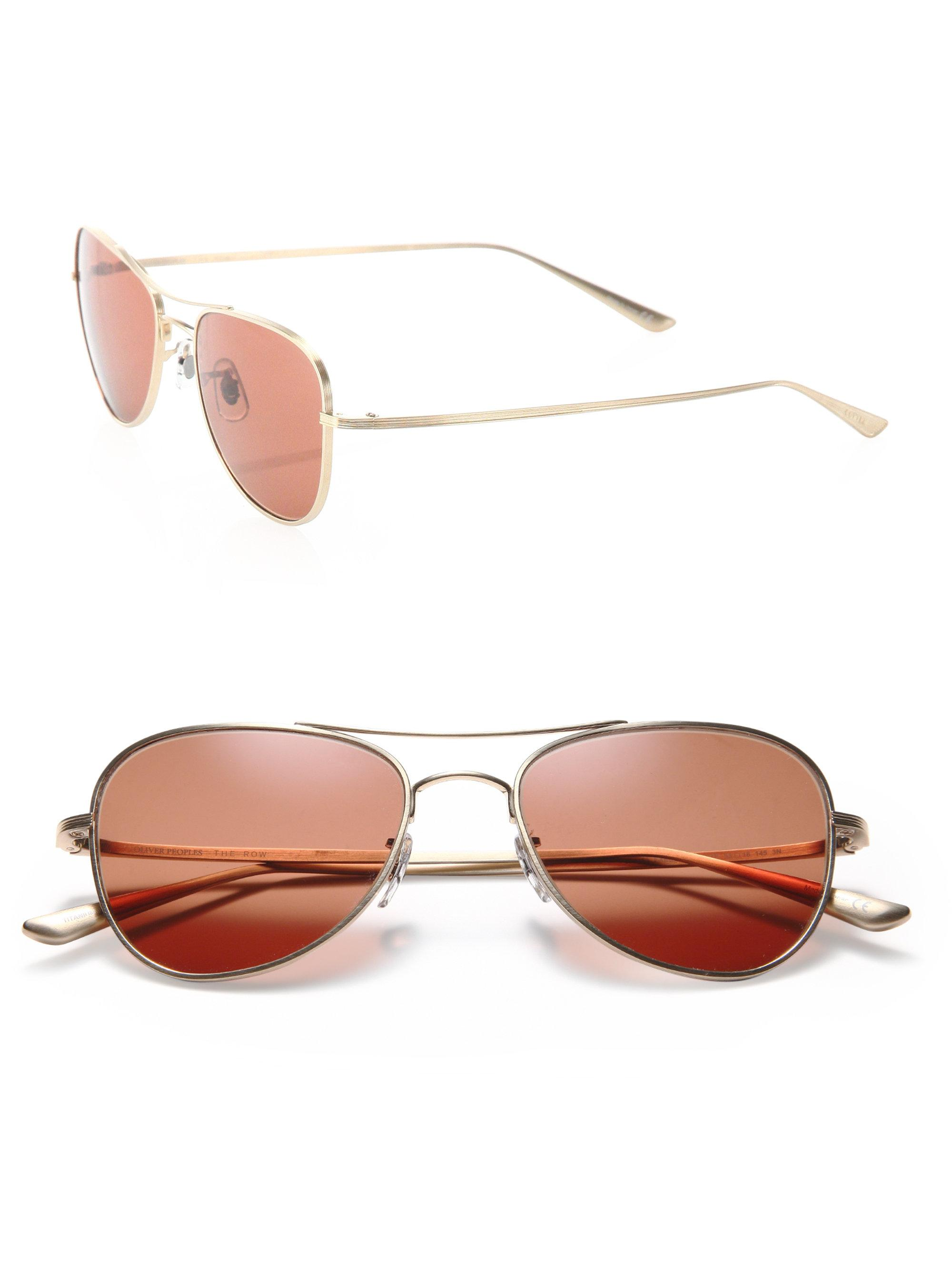 aa4d2a154035 Oliver Peoples The Row For Oliver Peoples Executive Suite 53mm ...