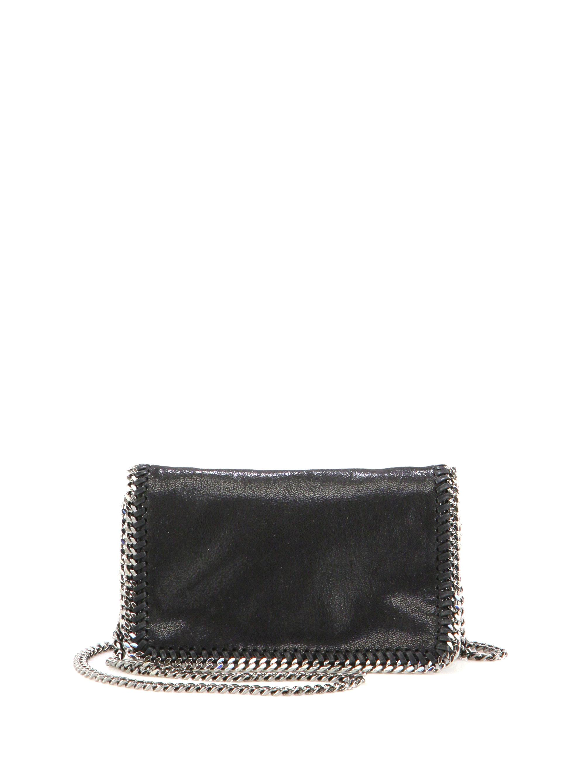 Stella Mccartney Falabella Faux Leather Fold-over Chain Crossbody ... 1310768e89707