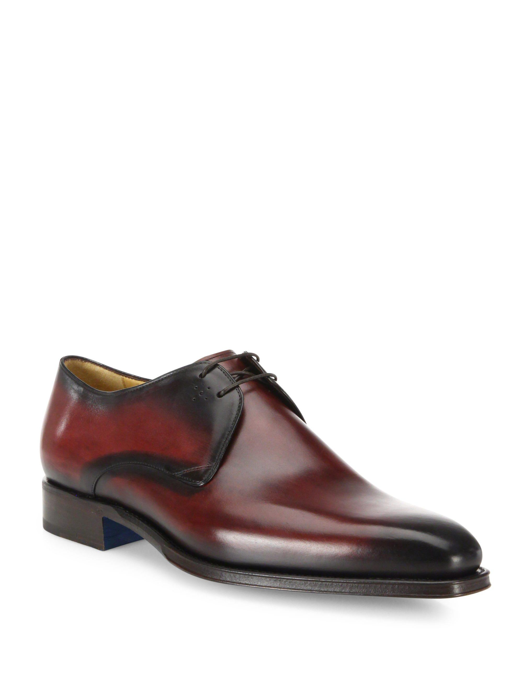 SUTOR MANTELLASSI Oscar Plain Der Leather Derby Shoes VzkeZc