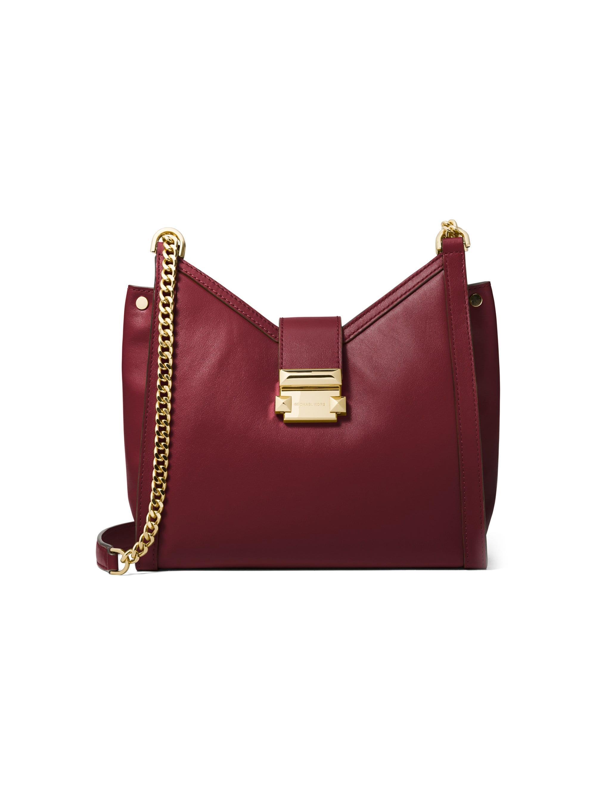 4957a8963a3e59 MICHAEL Michael Kors. Women's Whitney Small Leather Crossbody Bag ...