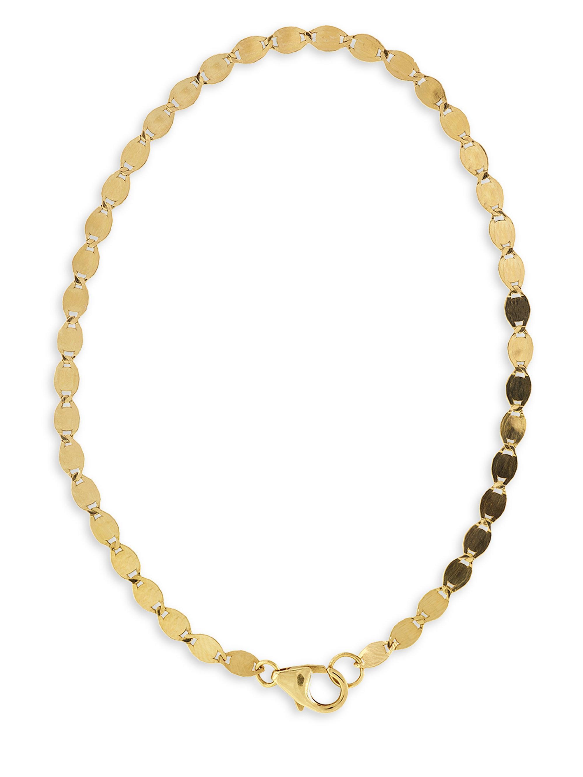 Lana Jewelry 14k Mini Kite Chain Bracelet kJmOZbKl