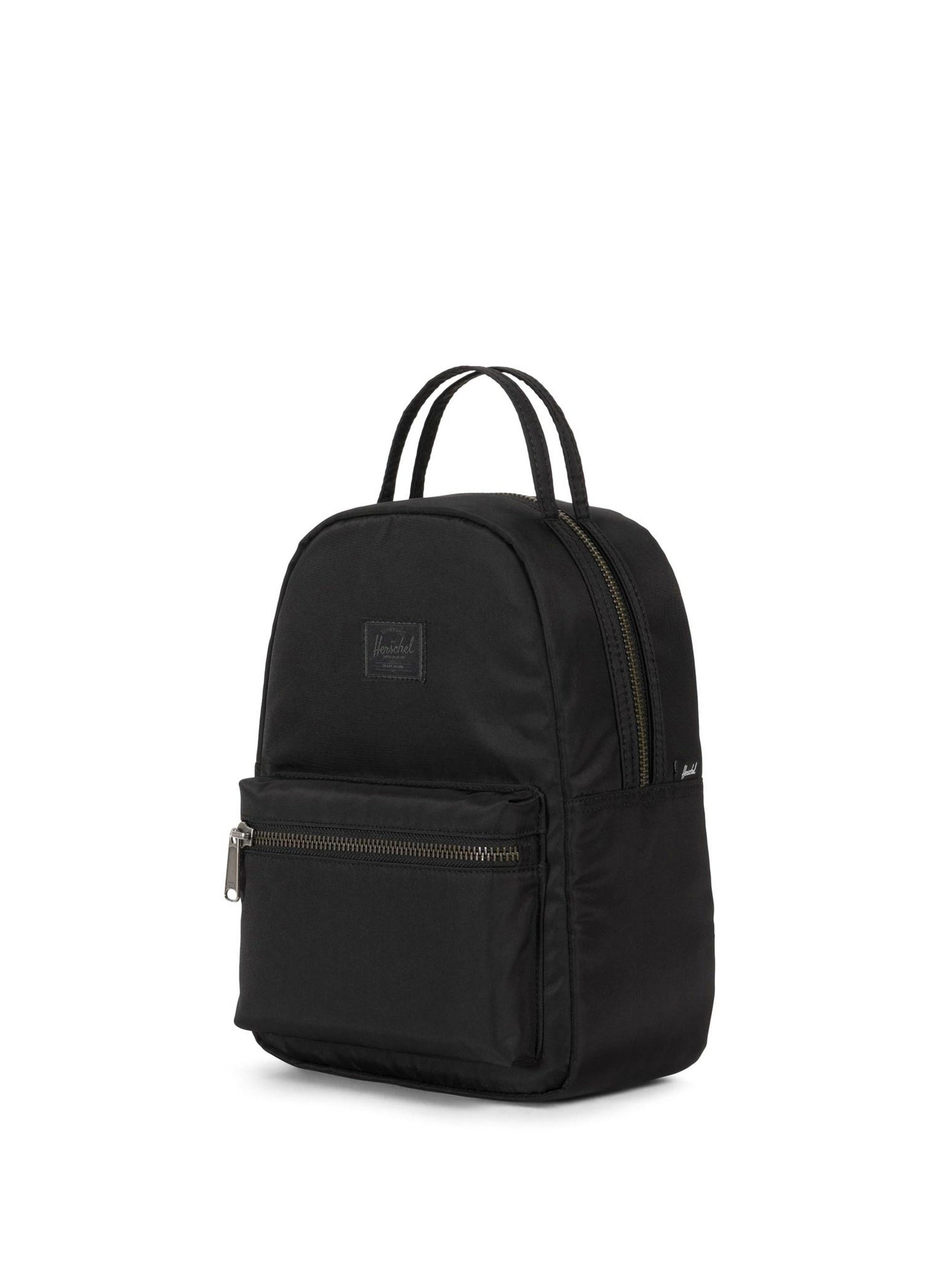 1dc2f7e68ac Lyst - Herschel Supply Co. Men s Mini Satin Backpack - Black in Black for  Men