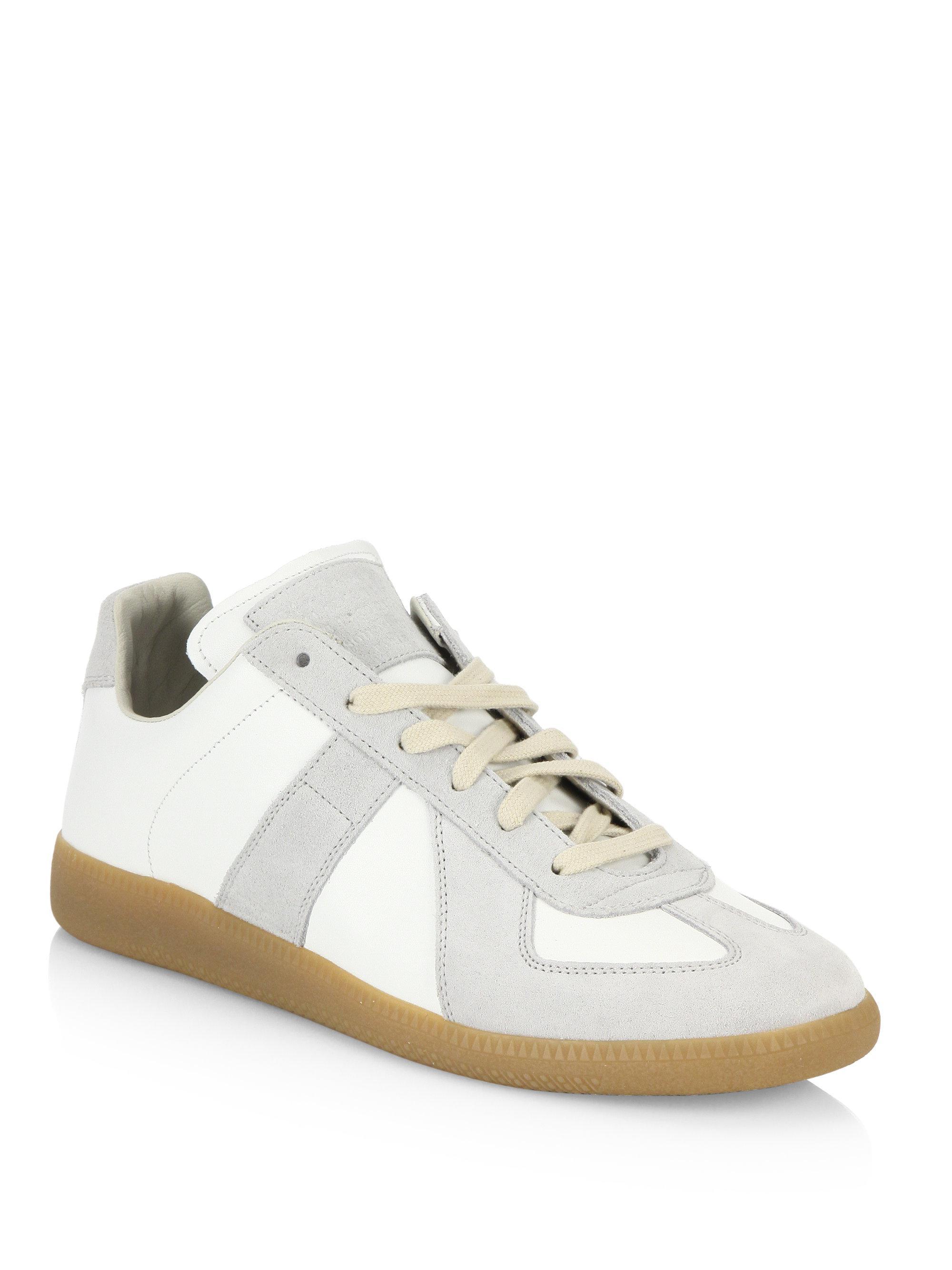 Mens Mens Replica Gabardine Sneakers Maison Martin Margiela xWt9i