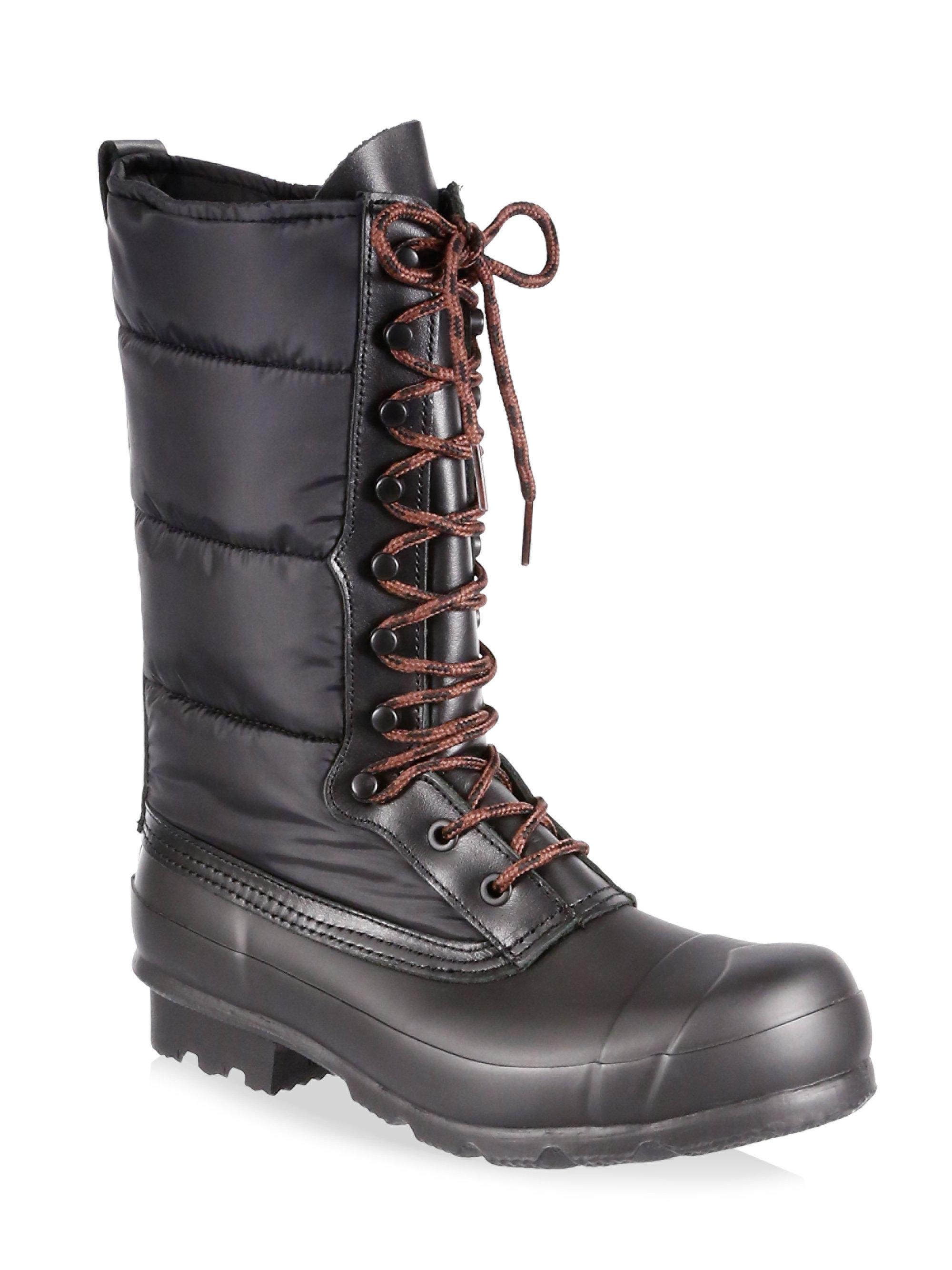 Hunter Original Quilted Nylon & Rubber Boots bZoAtwI4H