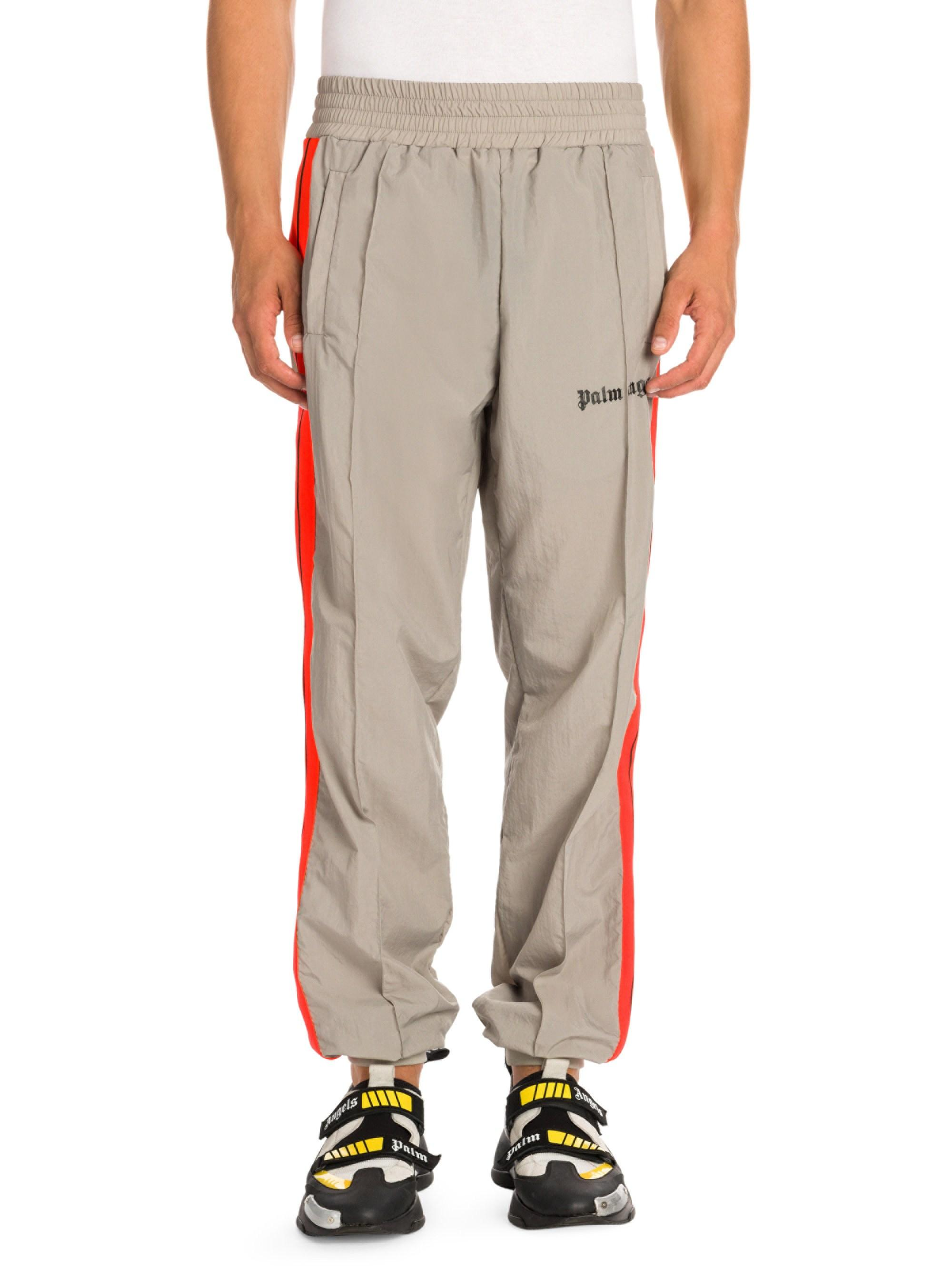 719f408f Lyst - Palm Angels Loose-fit Track Pants in Gray for Men