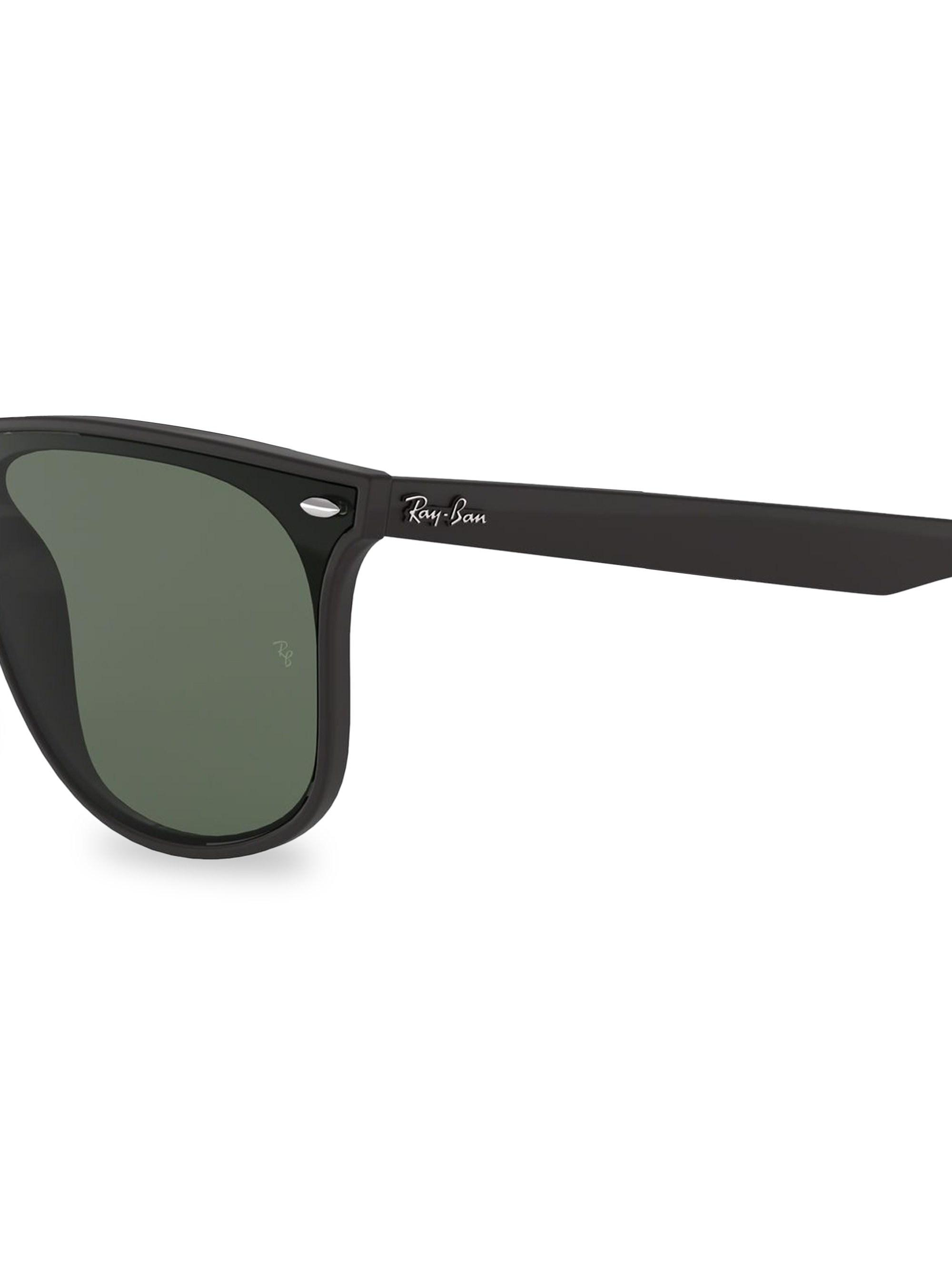 c36feaf908 Sunglasses Square In Ray 55mm Lyst Black Ban Women s Matte wqIpwXT