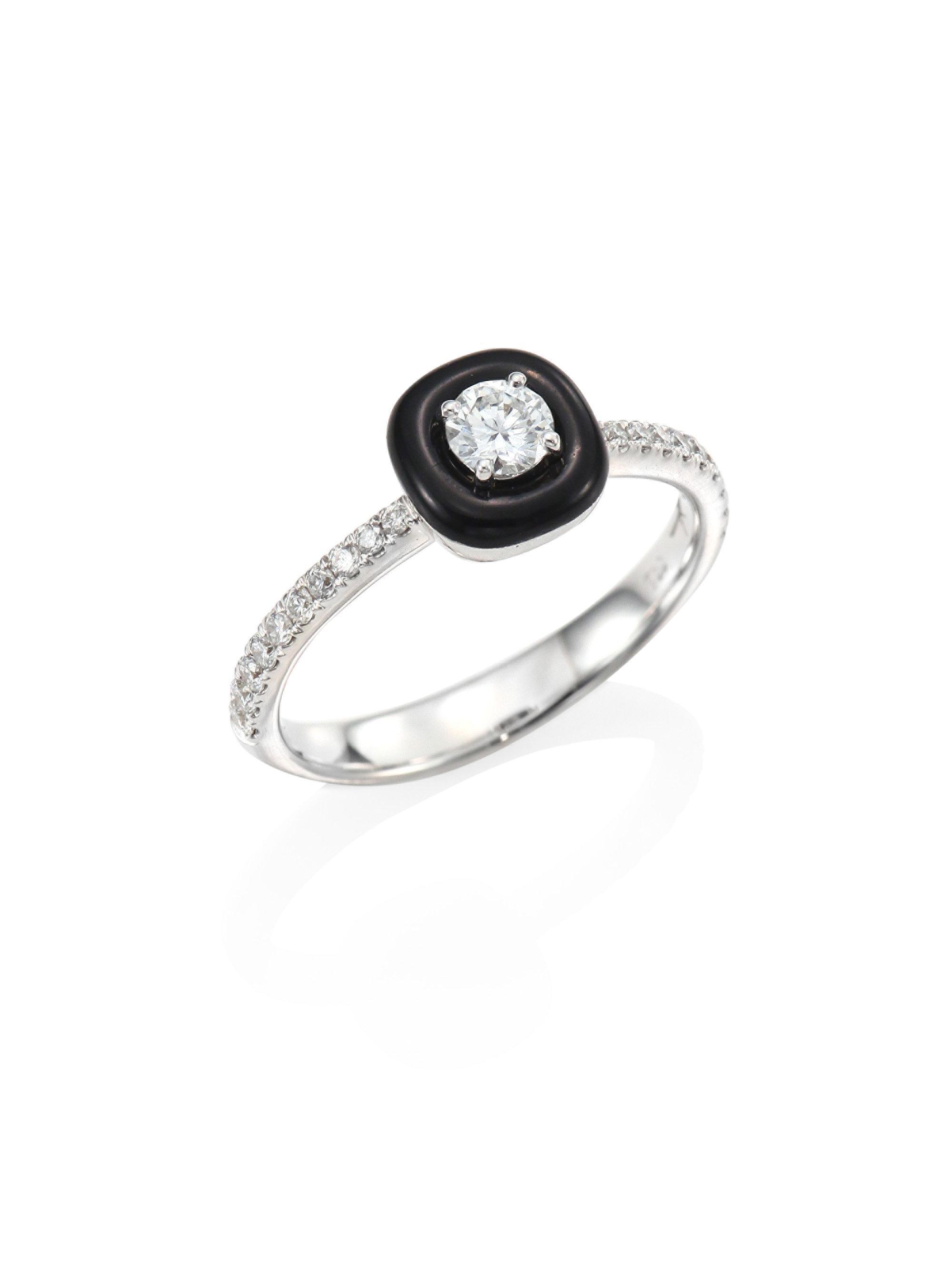 Nikos Koulis pavé diamond embellished ring - Metallic Lyomk4cAu5