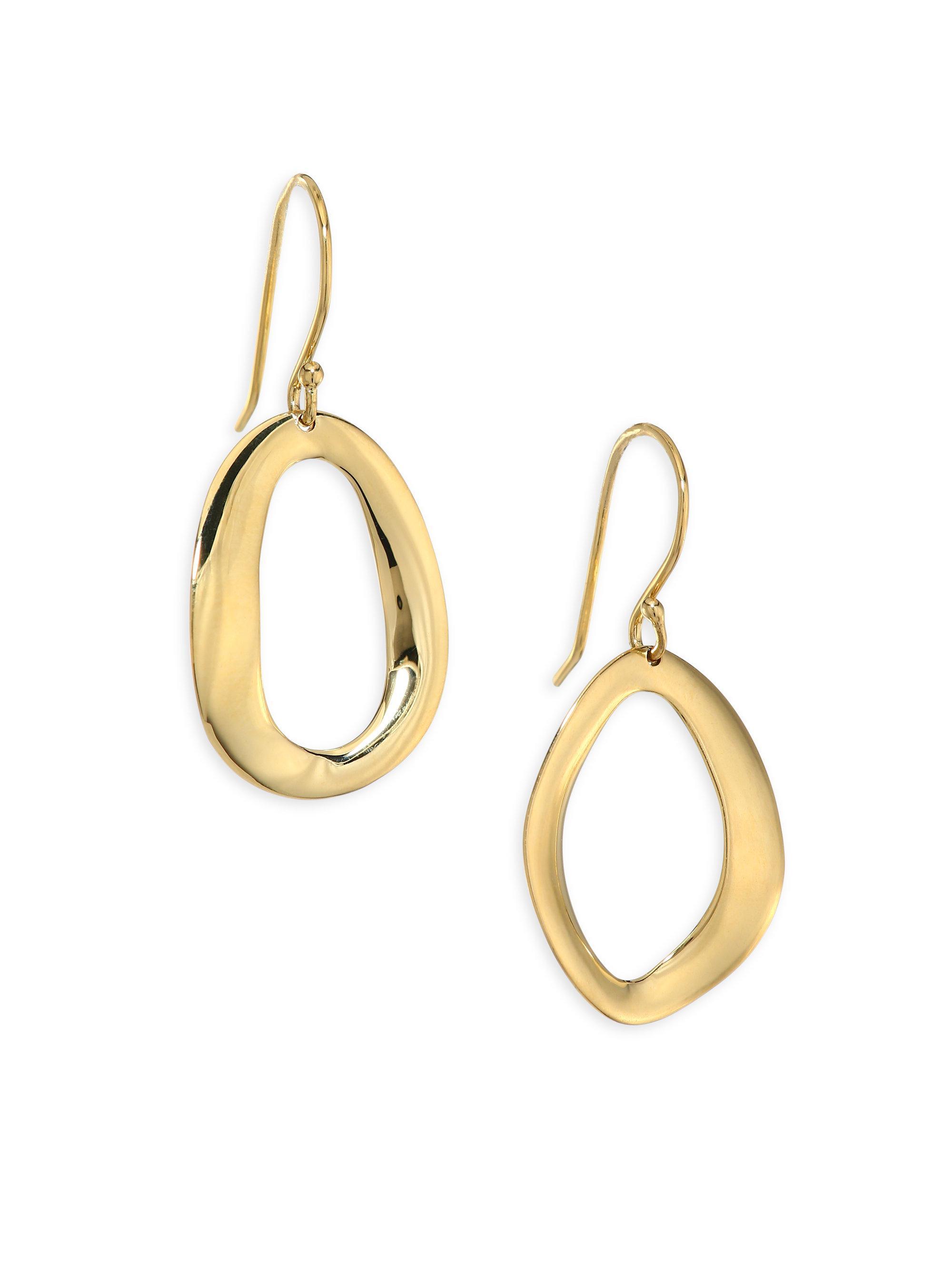 Ippolita 18K Cherish Medium Drop Earrings YKjLaydwX