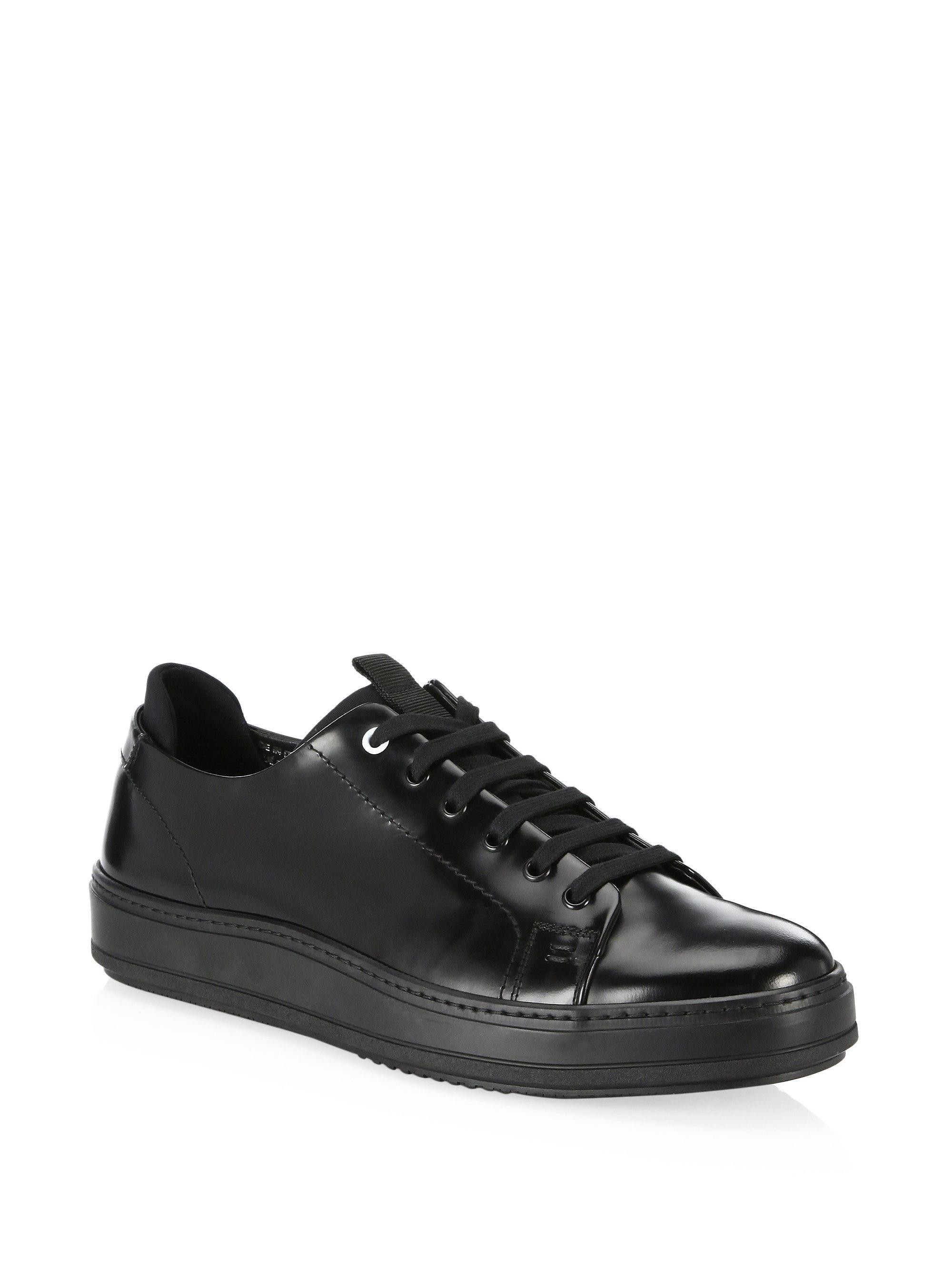 Saks Fifth Avenue COLLECTION Neoprene Inset Low-Top Sneakers GJPYrmR
