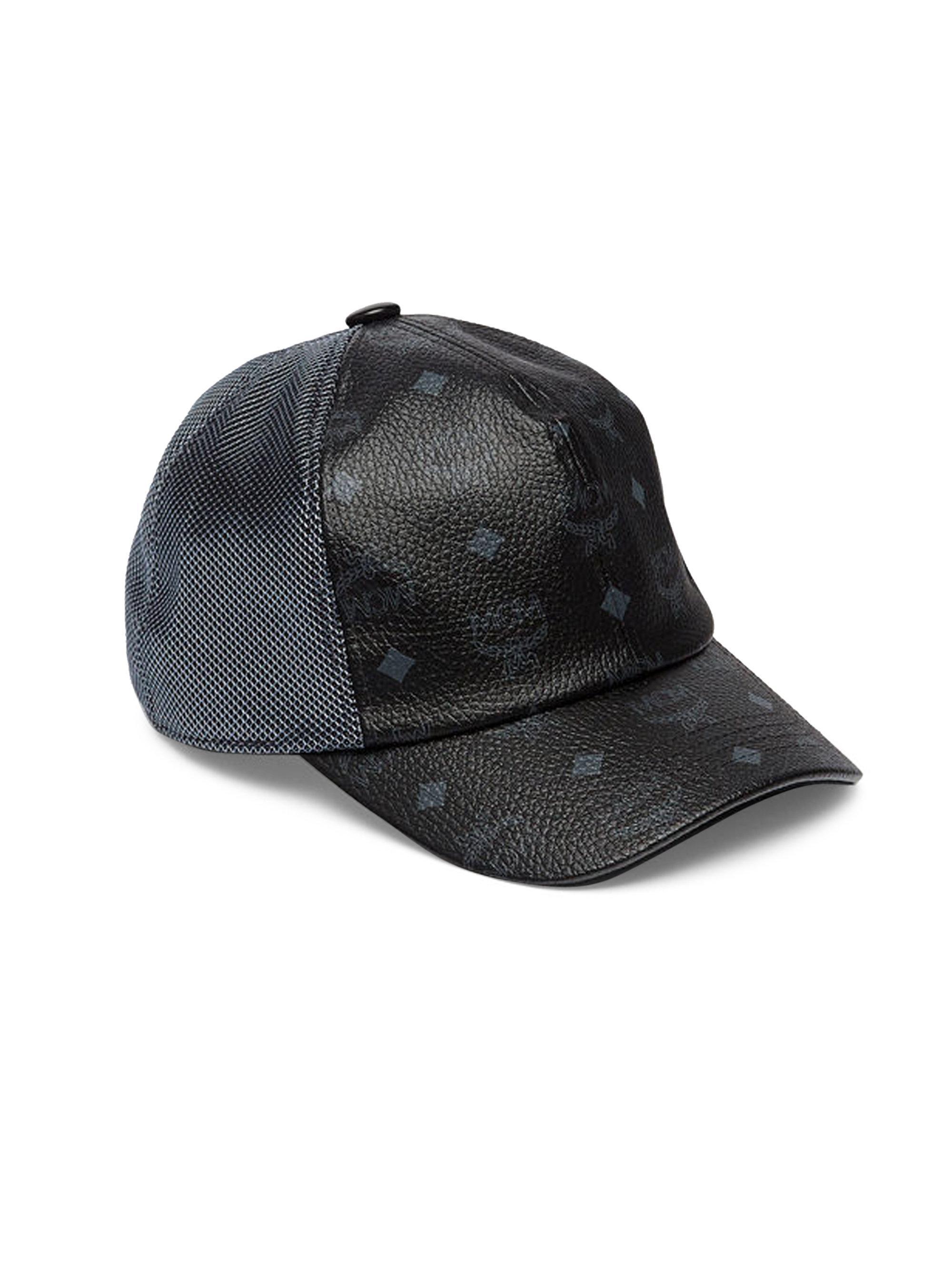 b84e3cb16b82b ... shop mcm. womens black classic mesh cap 13b03 db303