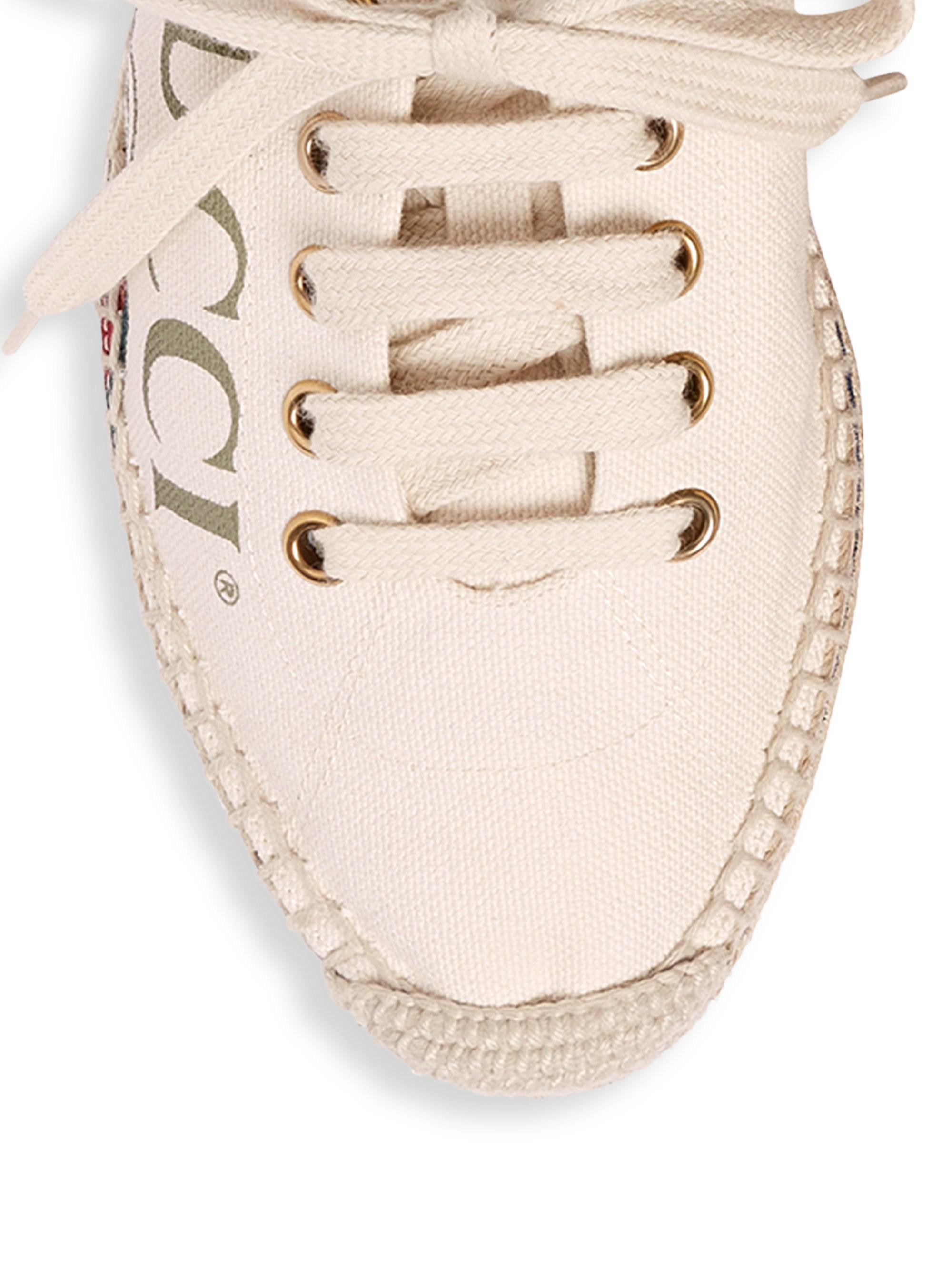 eacad67c836f Gucci Convertible Logo Espadrille - Save 13% - Lyst