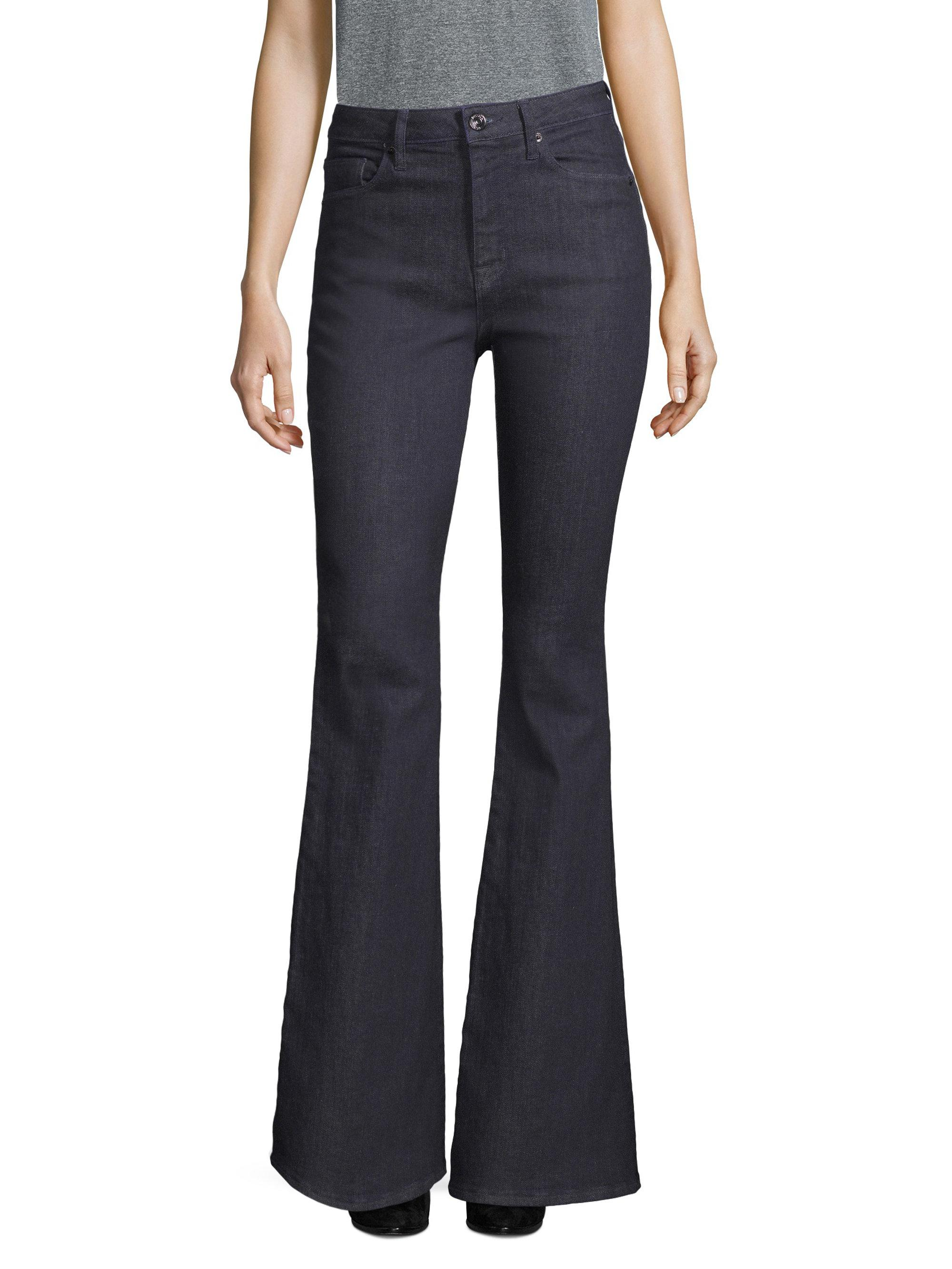 12d0a231595 Hudson Jeans Holly High-rise Flare Pants in Blue - Lyst