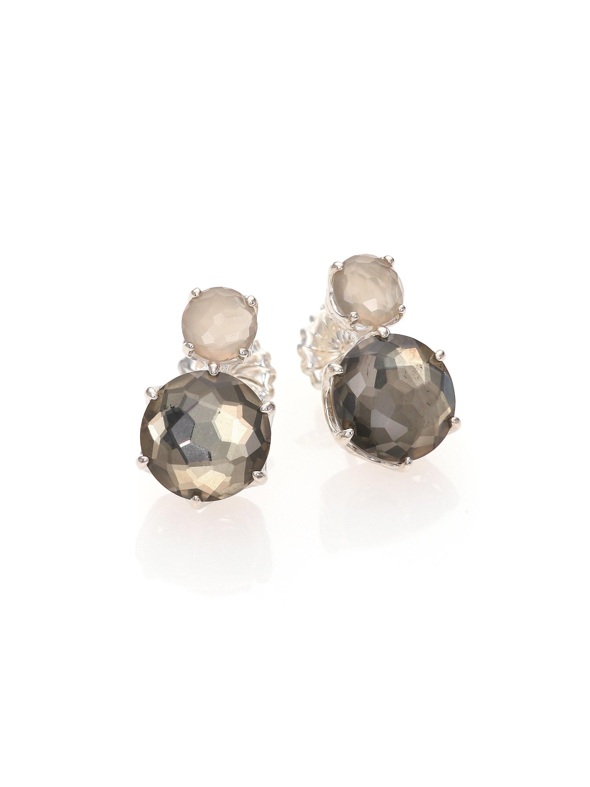 9e1e34795bd Lyst - Ippolita Rock Candy Grey Moonstone