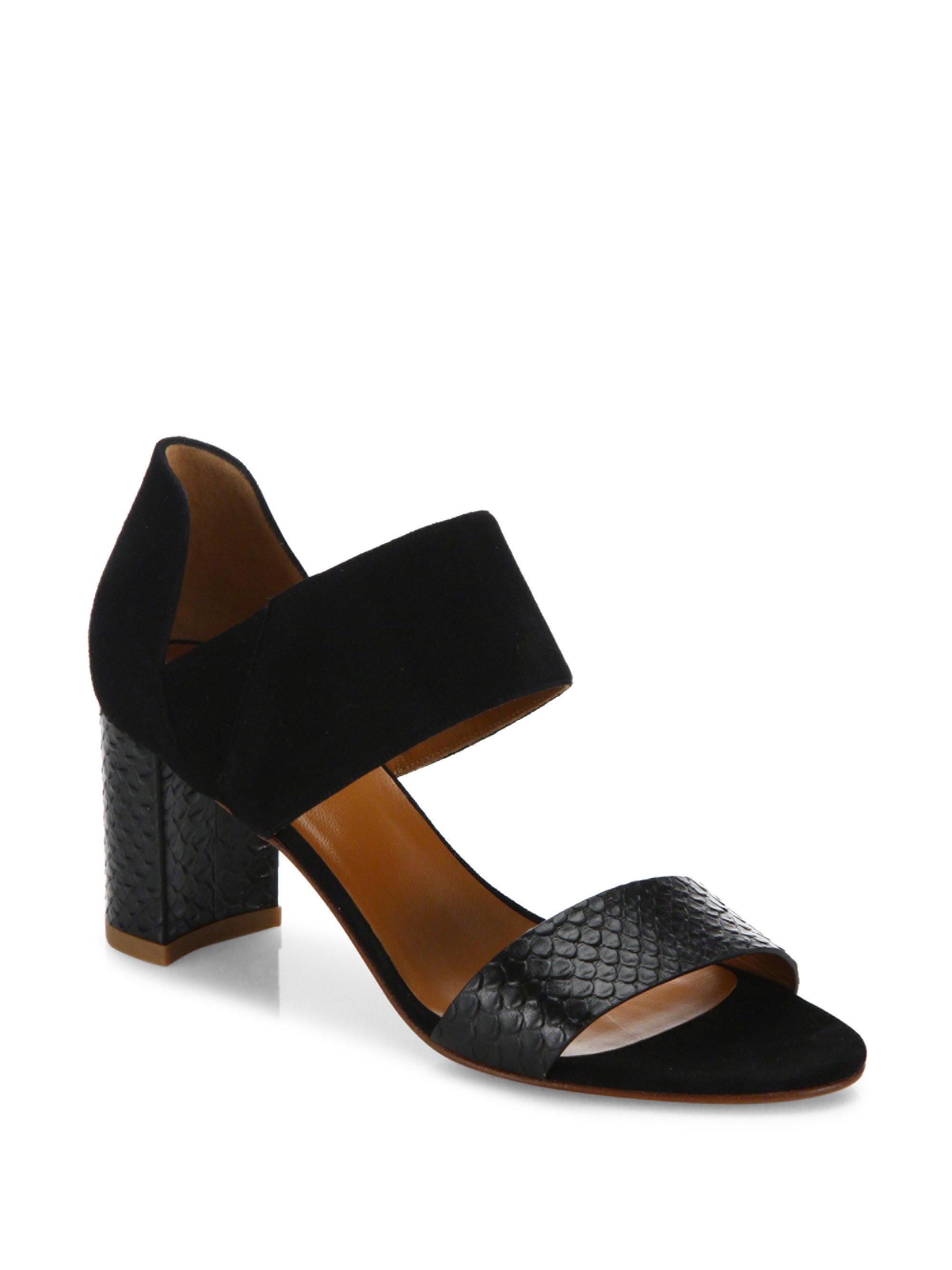largest supplier sale online Aquatalia Embossed Suzanne Sandals popular sale online xNuN1h