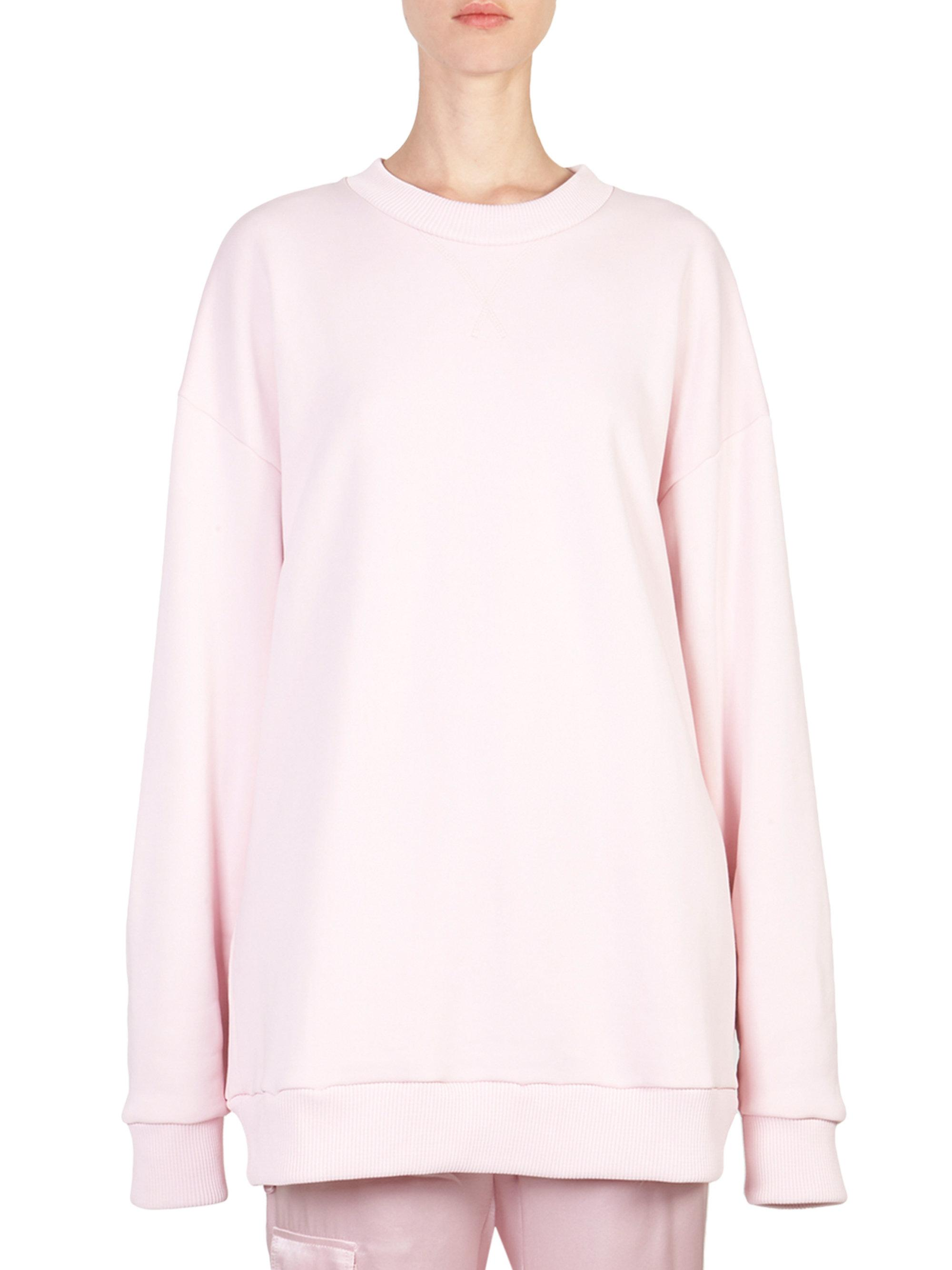 oversized sweatshirt - Pink & Purple Marques Almeida