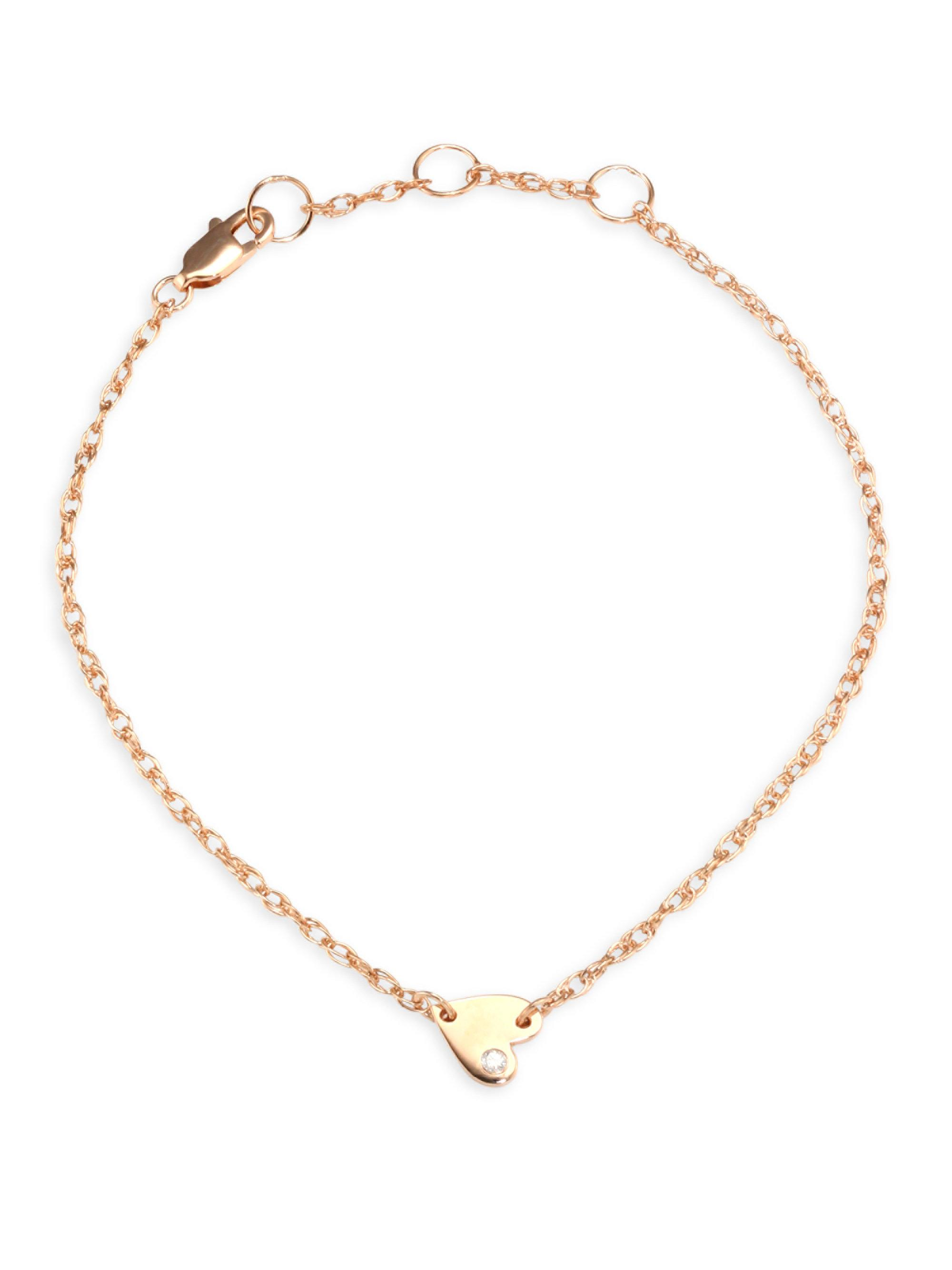shay view fullscreen jewelry metallic drop dangle gold in alternating designer anklet goldclear karat pave lyst