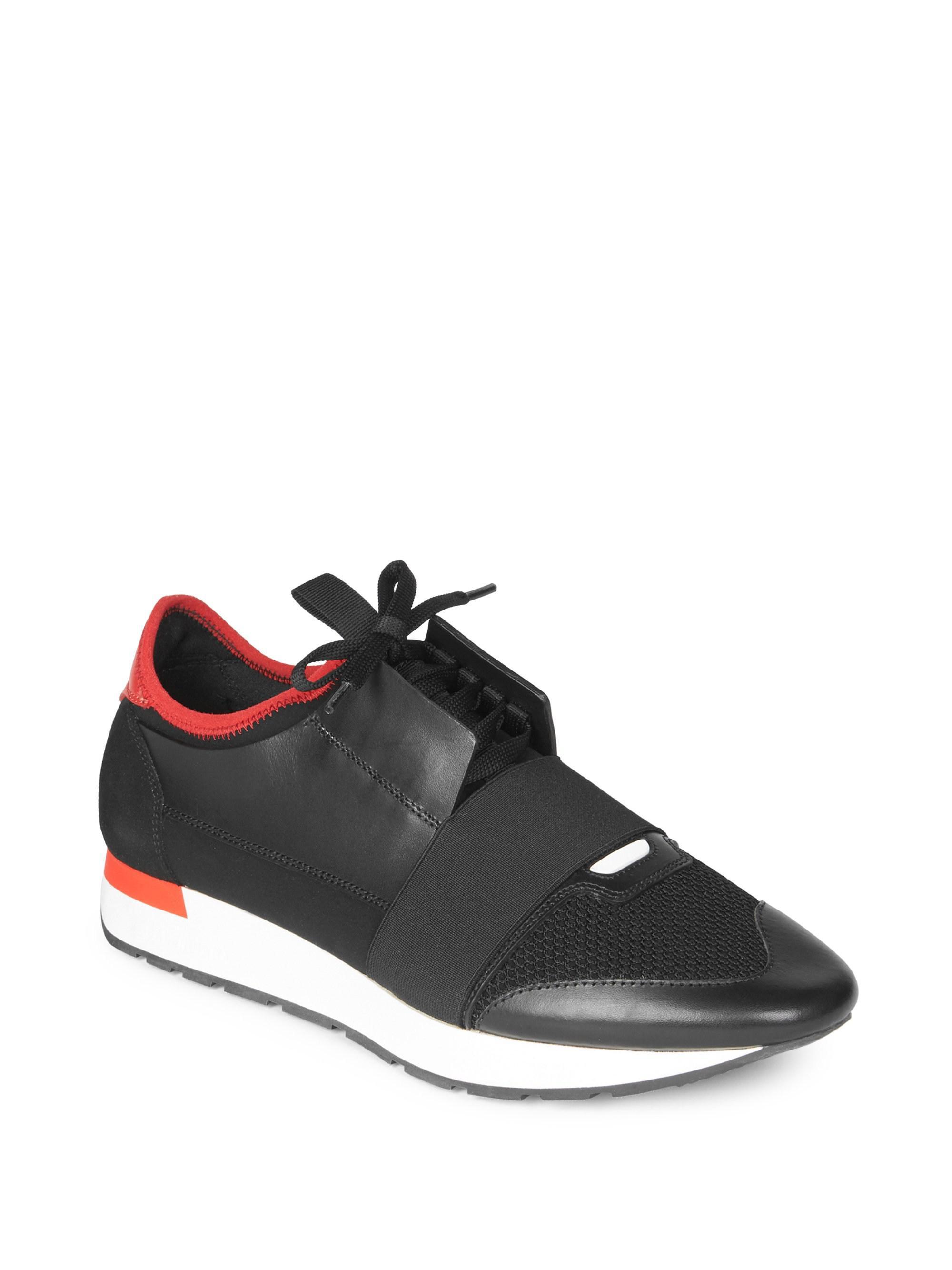 f4587b6420d6 Lyst - Balenciaga Race Runner Sneakers in Black for Men
