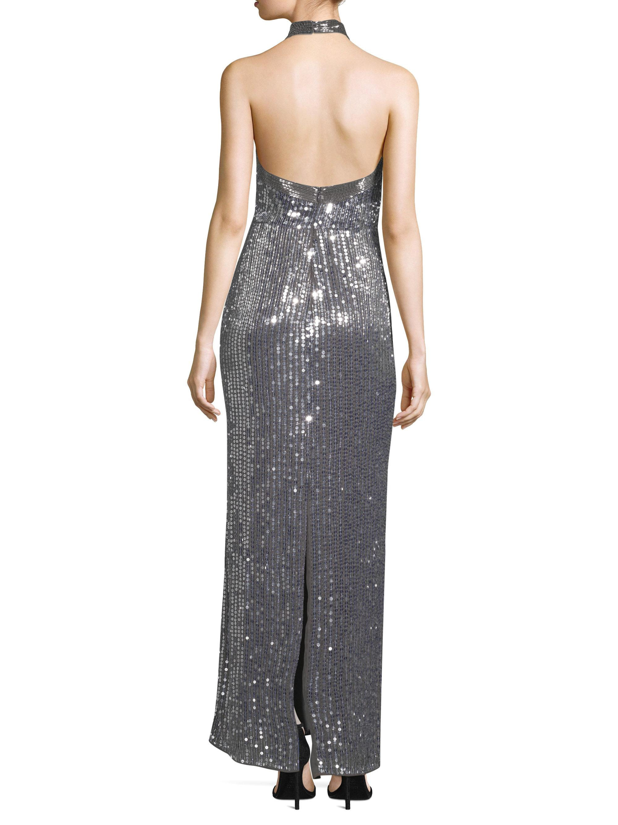 20a245e0cd4 Parker Black Women s Sophie Sequin Gown - Grey - Size 2 in Gray - Lyst