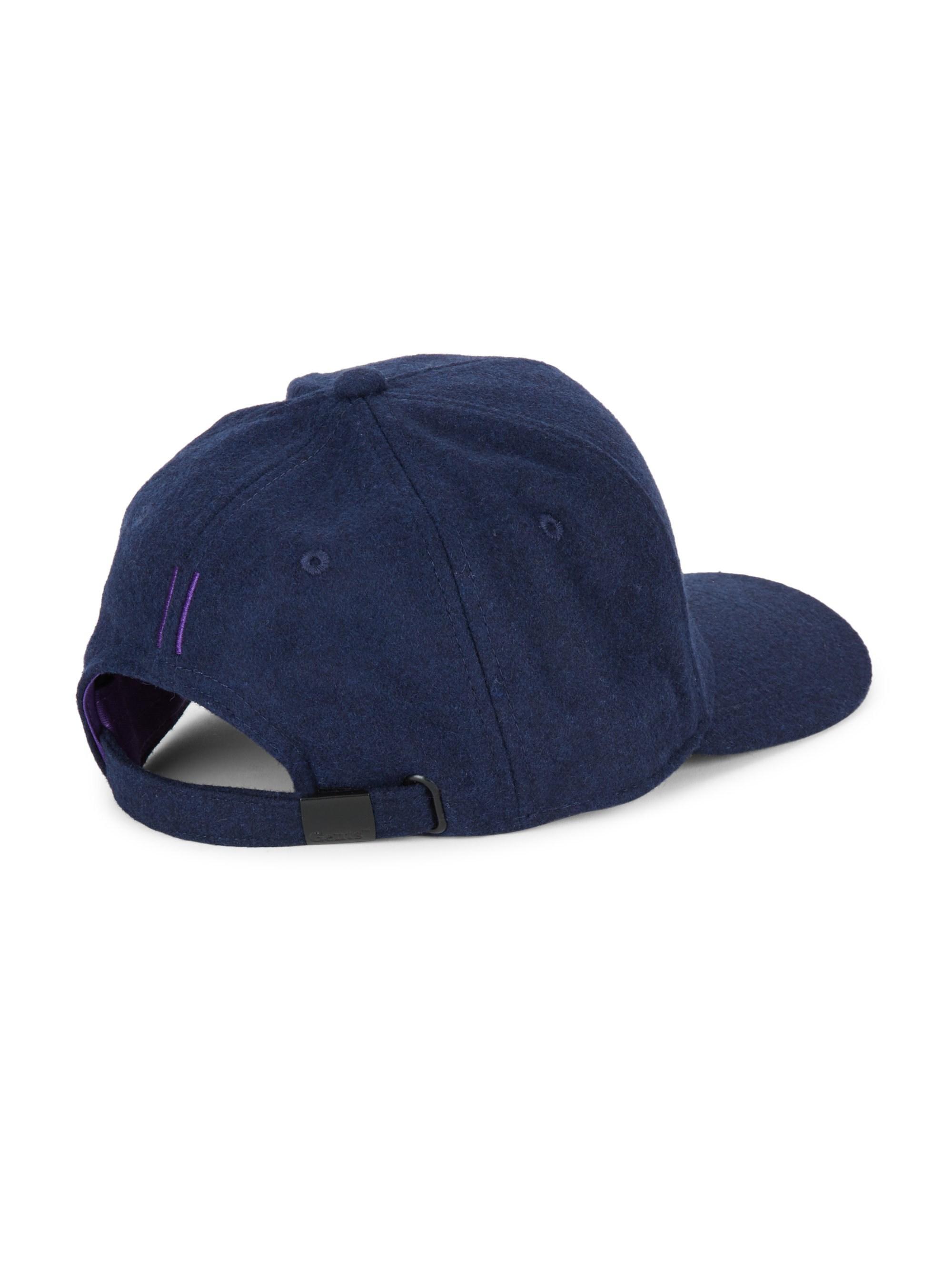 2b126438f5b Gents Chairman Hemp Baseball Cap in Blue for Men - Lyst