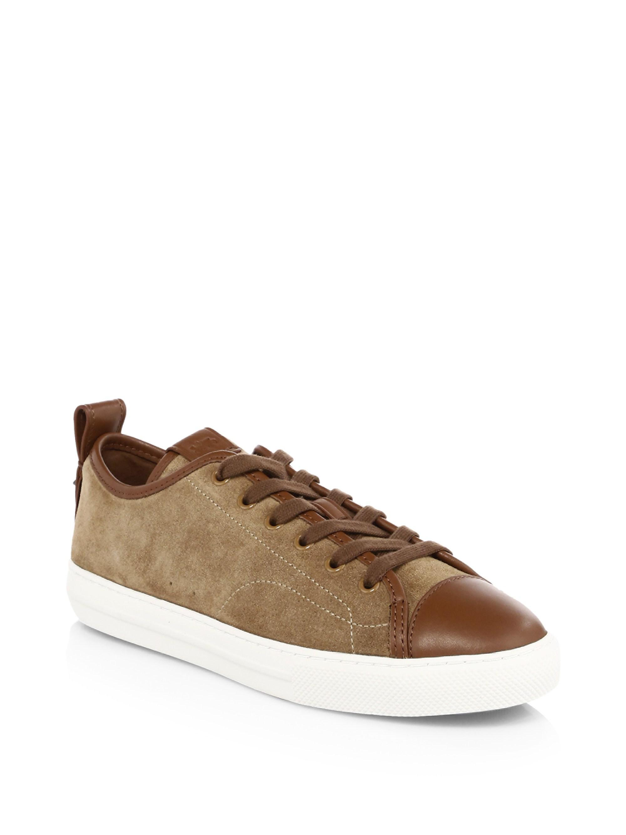 Coach Suede Low-Top Sneakers L3odL6Y