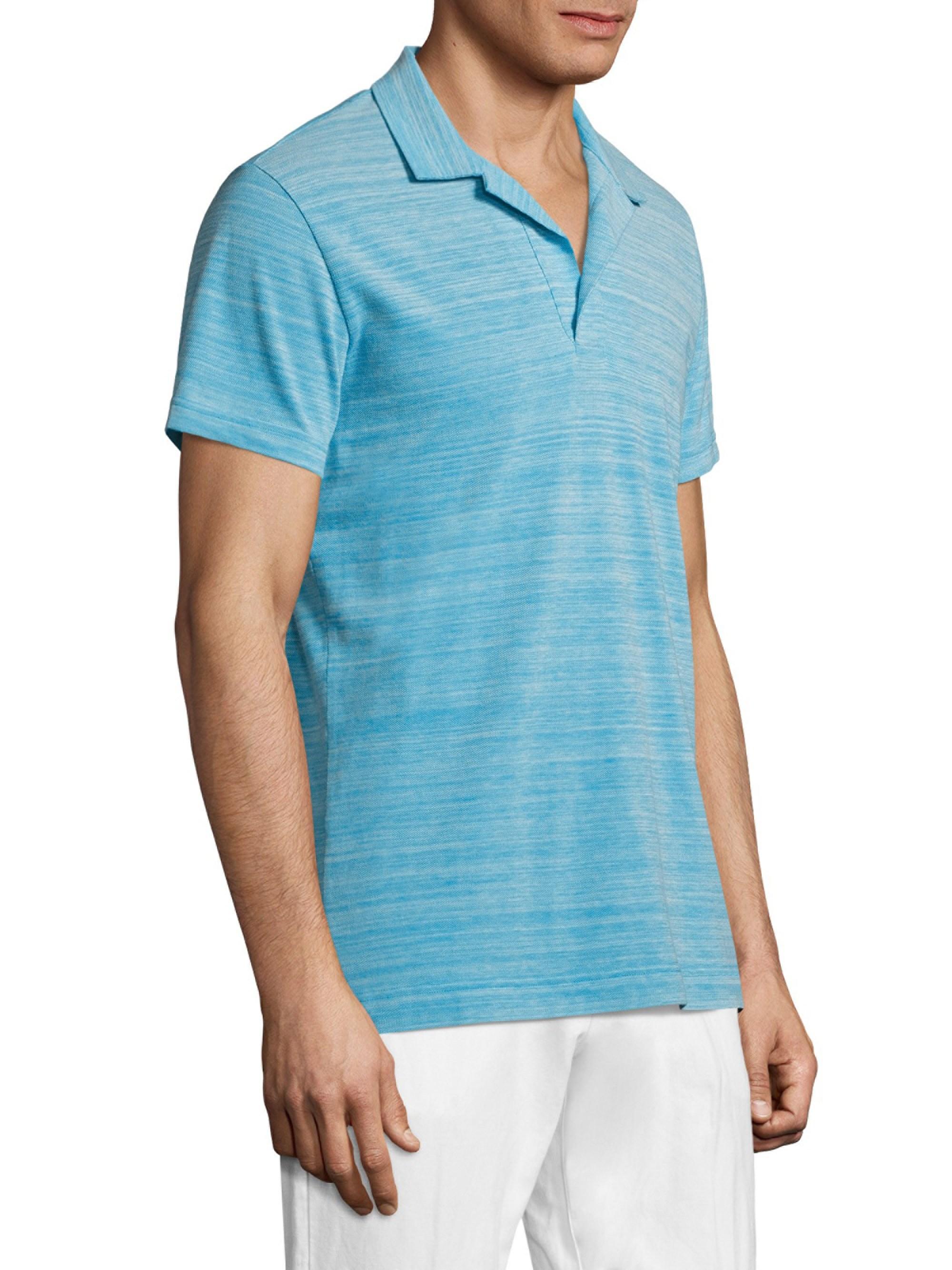 d0452161 Lyst - Orlebar Brown Felix Striped Polo Shirt in Blue for Men