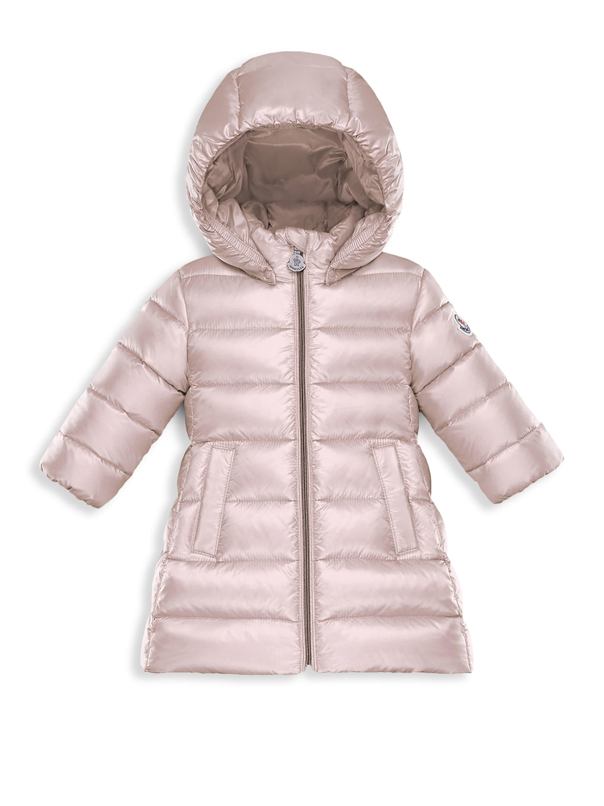 2f0620215402 Moncler Baby Girl s   Little Girl s Majeure Puffer Jacket in Pink - Lyst