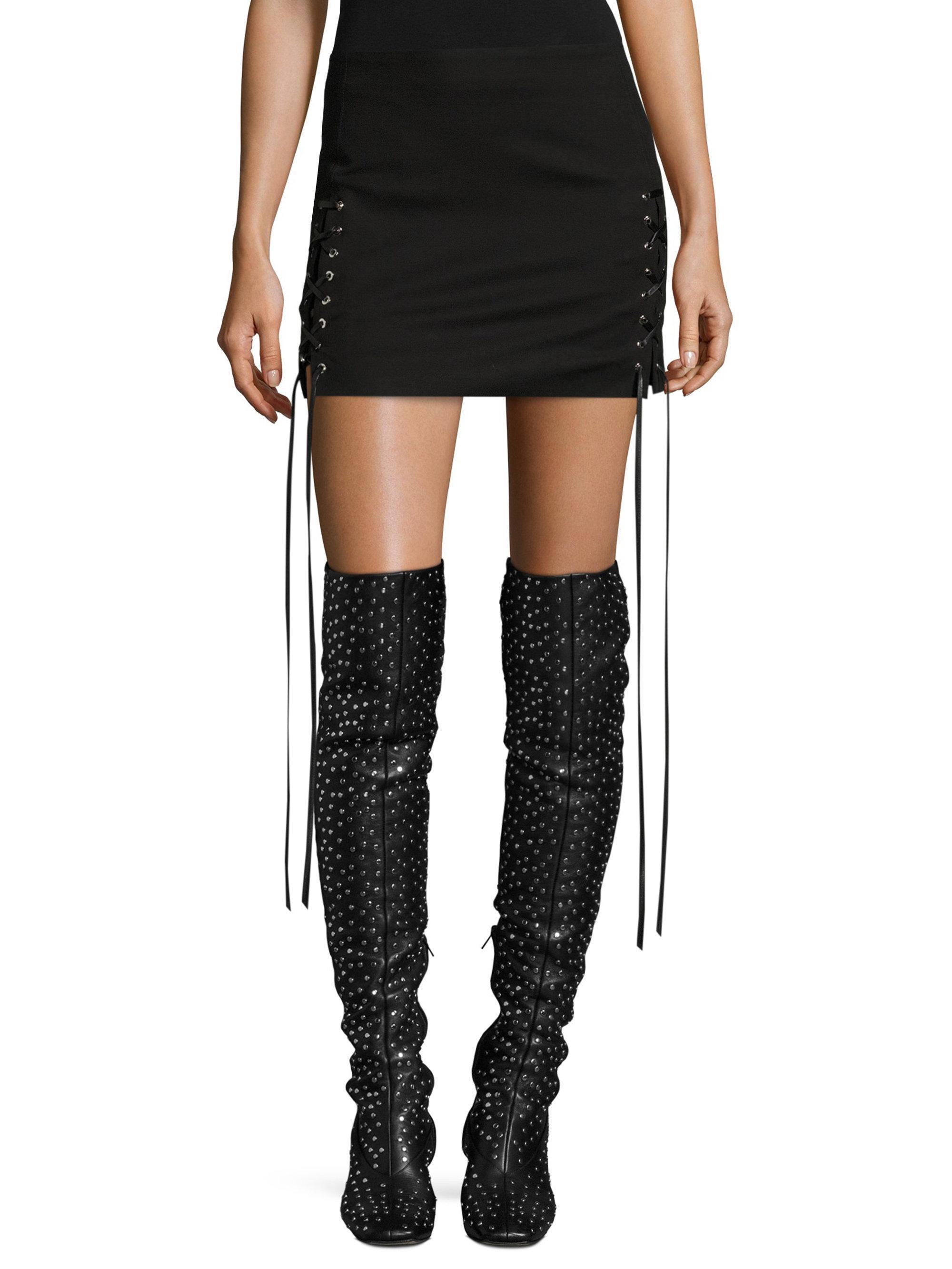 HELMUT Helmut Lang Bodycon Mini Skirt Official Deals Cheap Online Cheap Best Sale Online Store Wiki Online uidD33