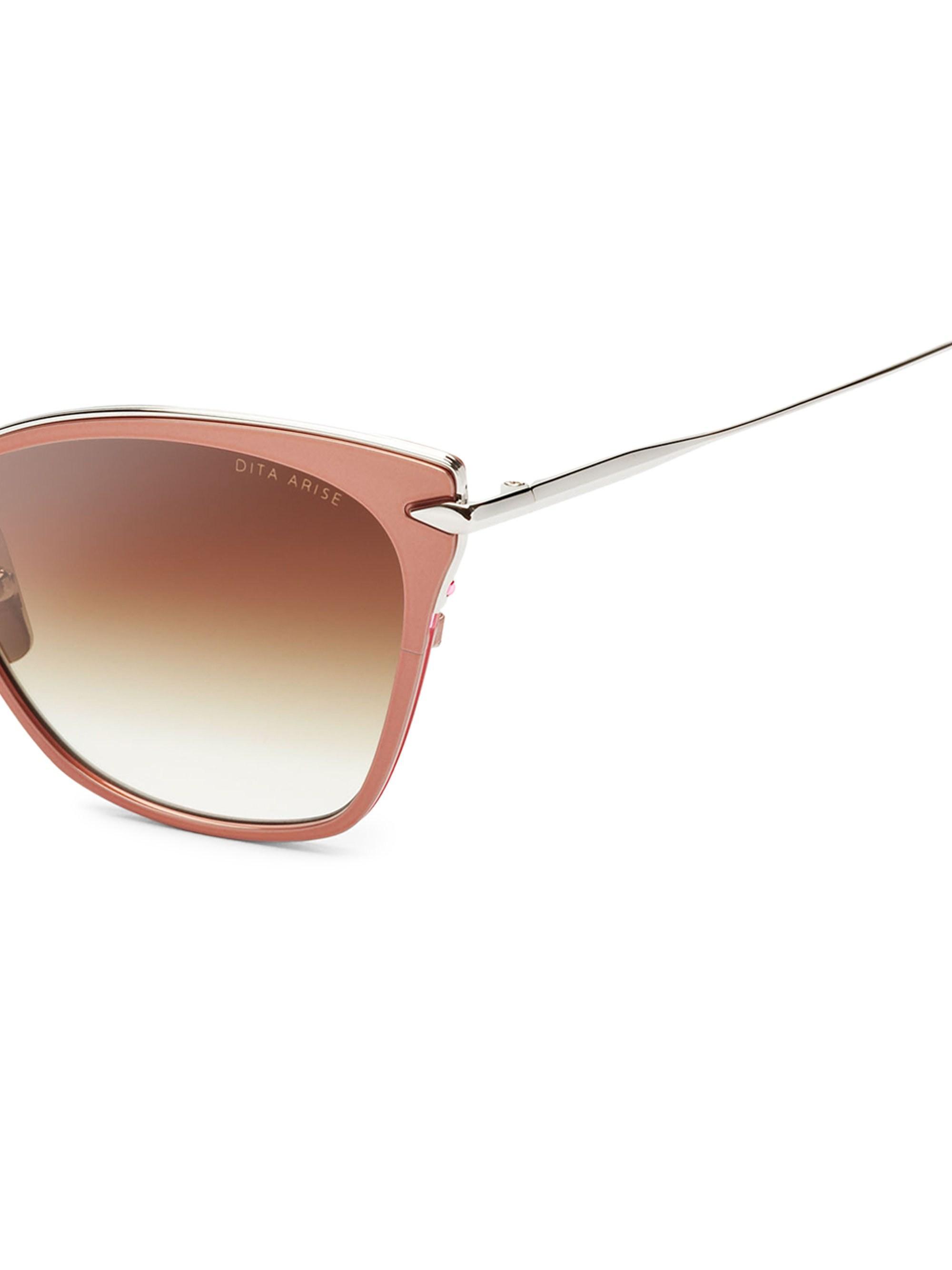 7a4678529323 Dita Eyewear - Multicolor Arise 54mm Cat-eye Sunglasses - Lyst. View  fullscreen
