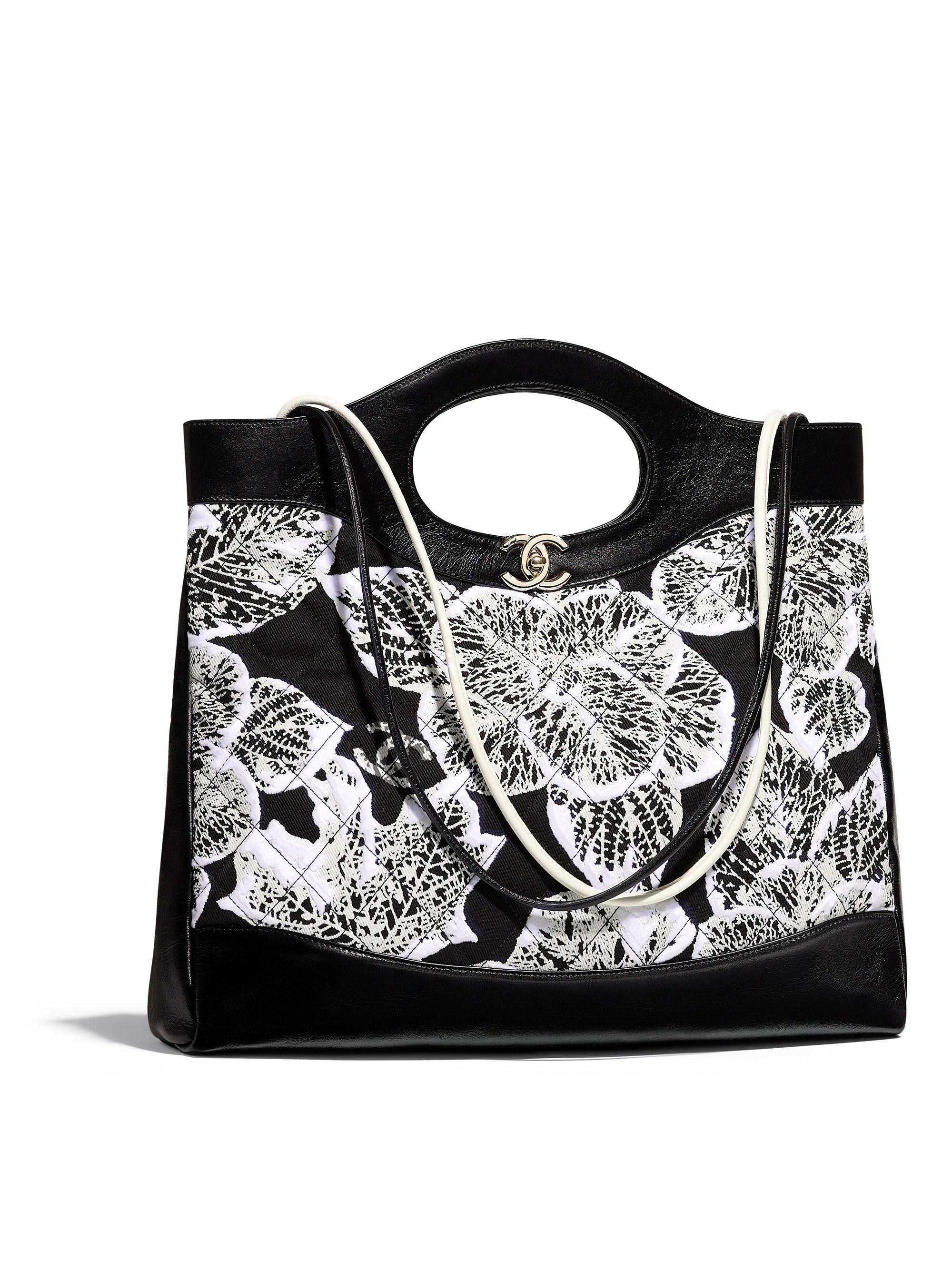b72cdb94a22e Chanel 31 Large Shopping Bag in Black - Lyst