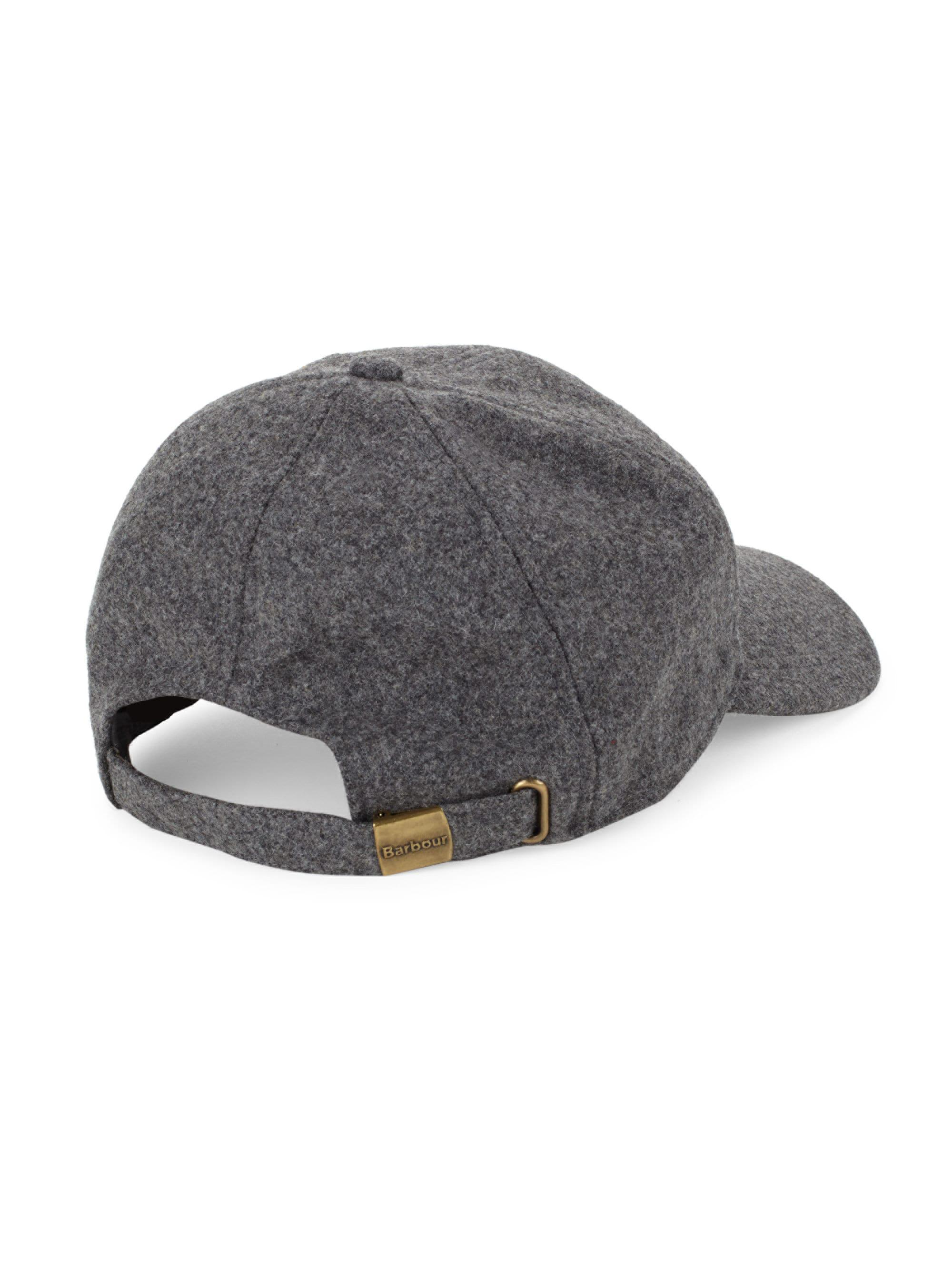 902f7a106df Barbour - Gray Coopworth Wool-blend Sports Cap for Men - Lyst. View  fullscreen