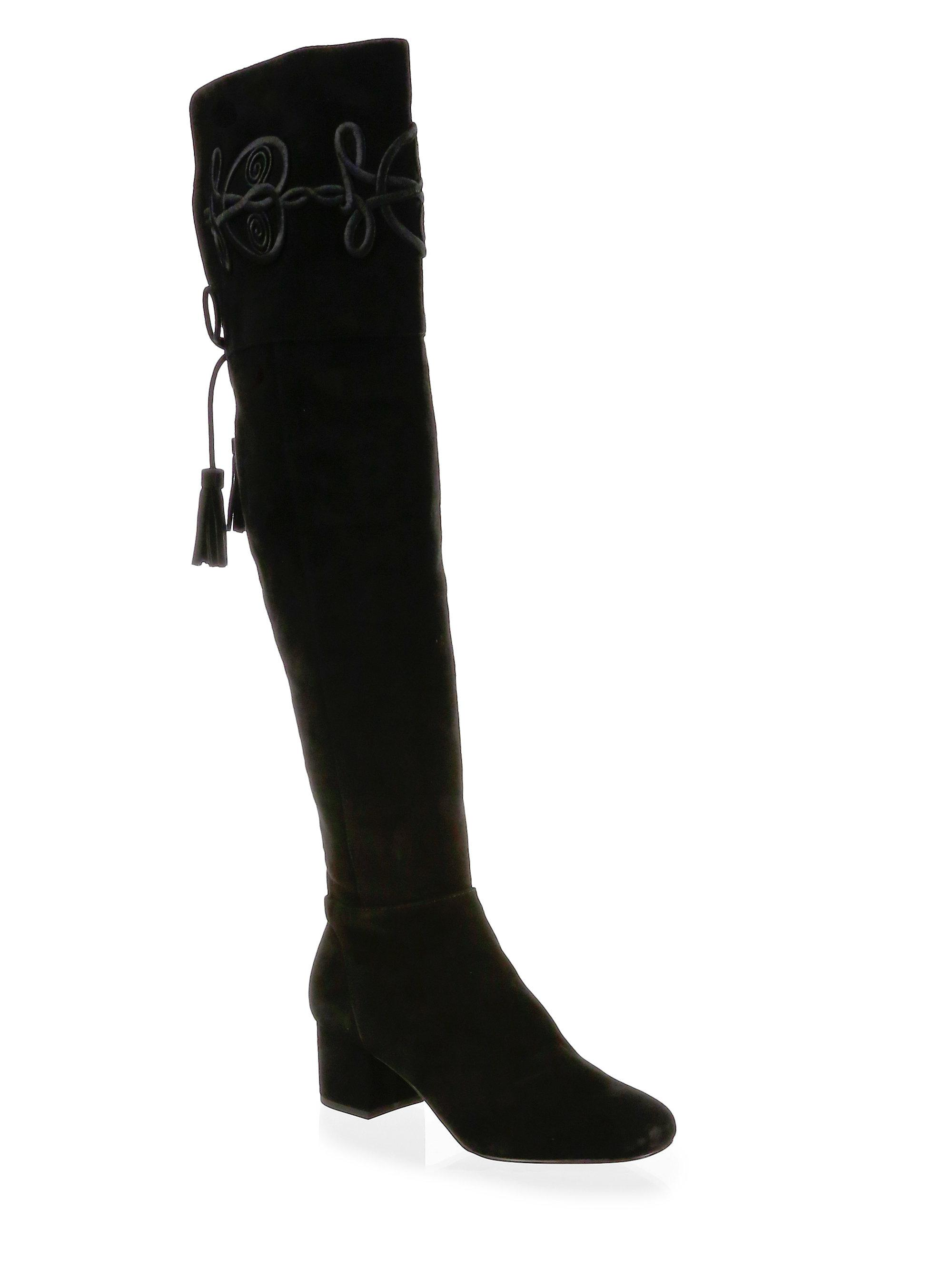 Rebecca Minkoff Shiloh Suede Over-The-Knee Boots a6Hda
