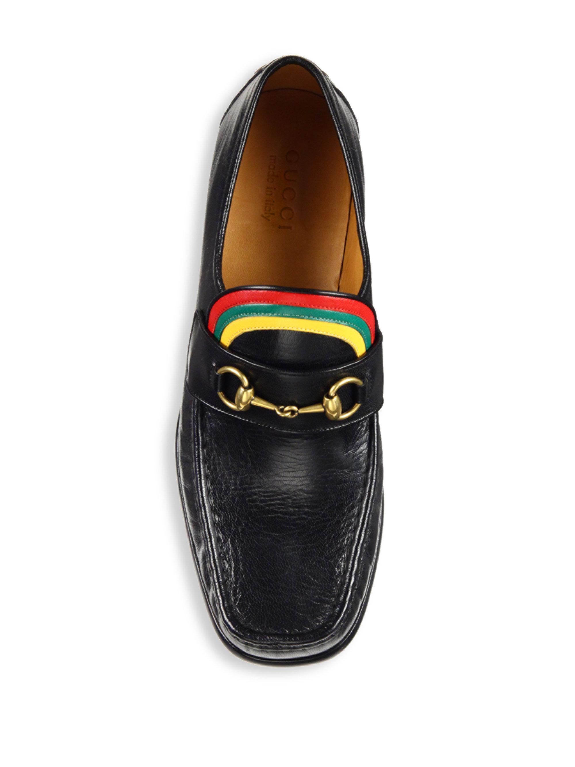 ki06f8Uii3Vegas Rainbow Horsebit Leather Loafers