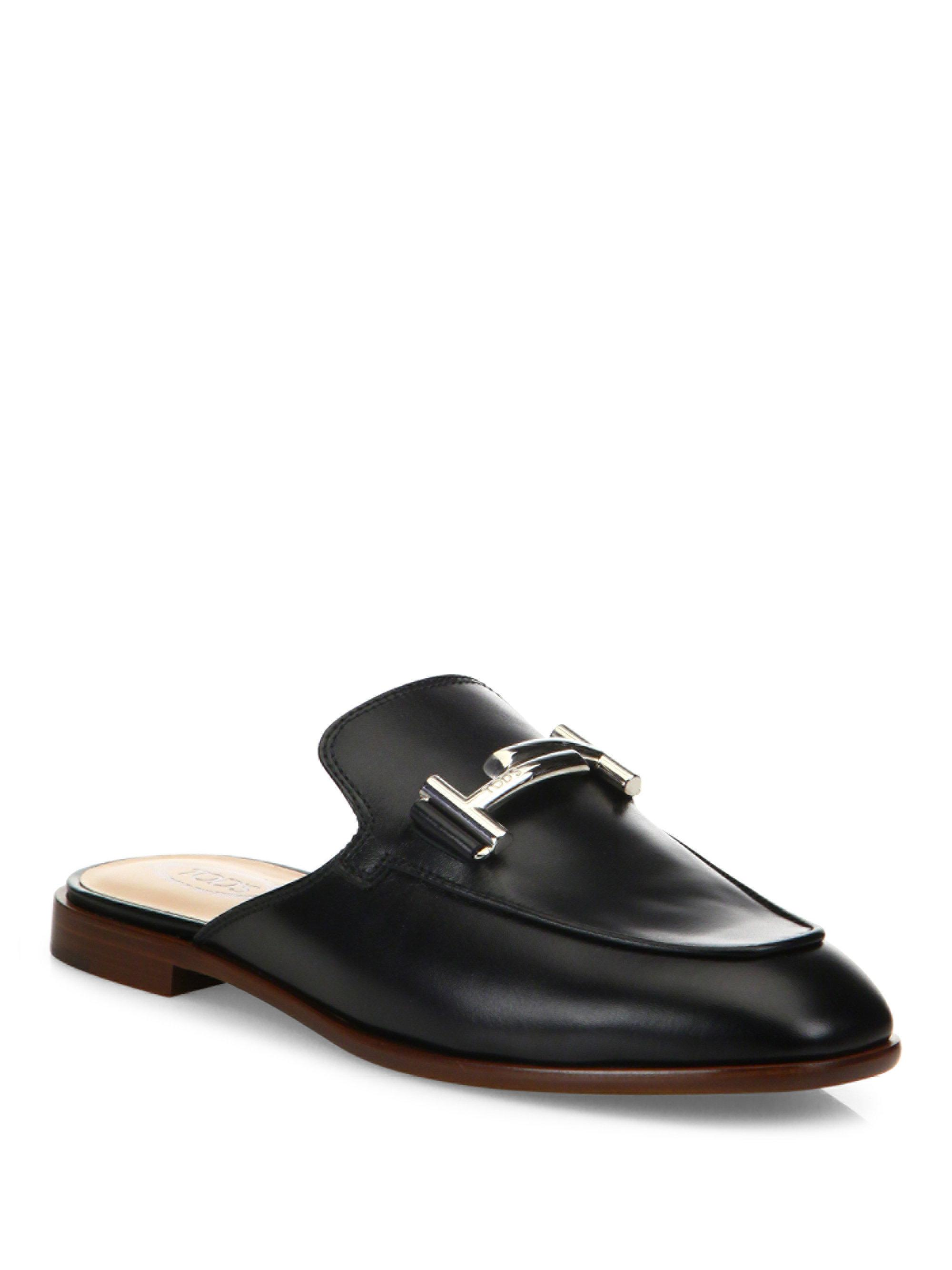 Double T micro fringe mules Tod's 96b5y77W