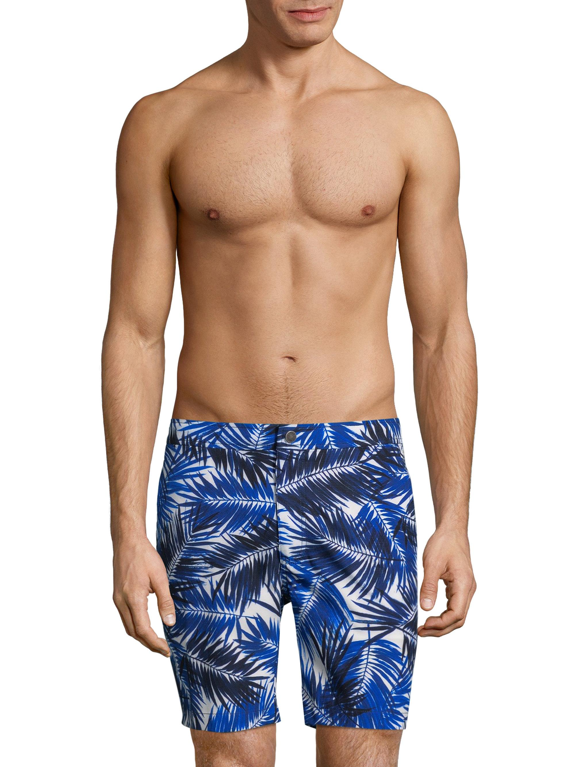 Mens Calder Palm-Print Swim Trunks Onia Buy For Sale Sale Visit Hot Sale Sale Online Top-Rated Cheap 2018 bu7KKeij