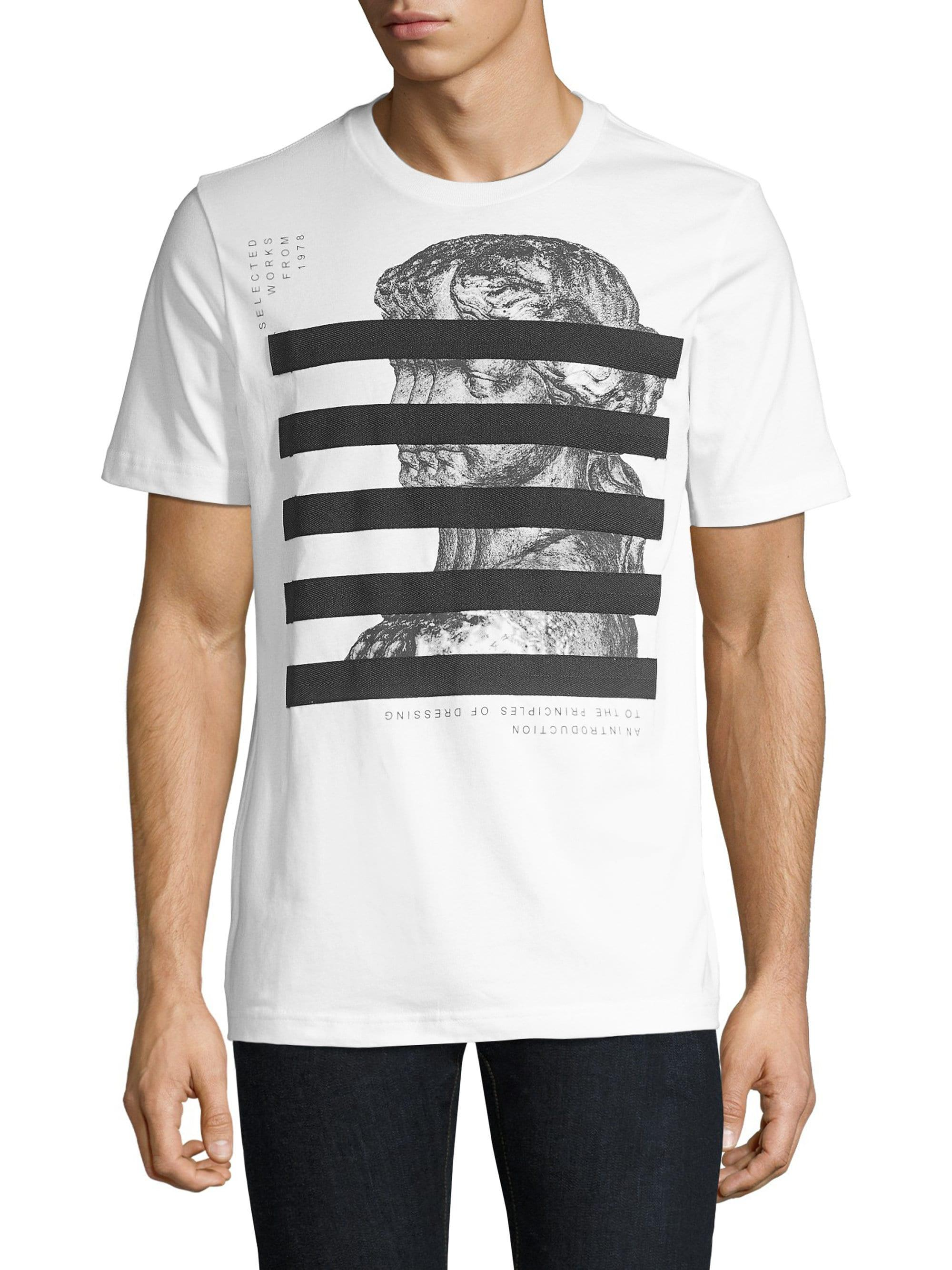b335fa2d Lyst - DIESEL Just-yo Graphic T-shirt in White for Men