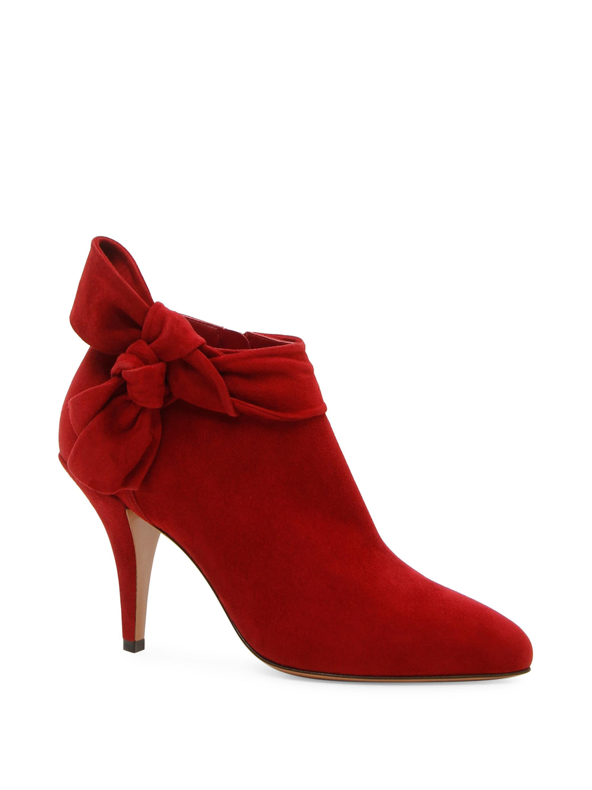Valentino Side Bow Ankle Boots ebNJRCuM