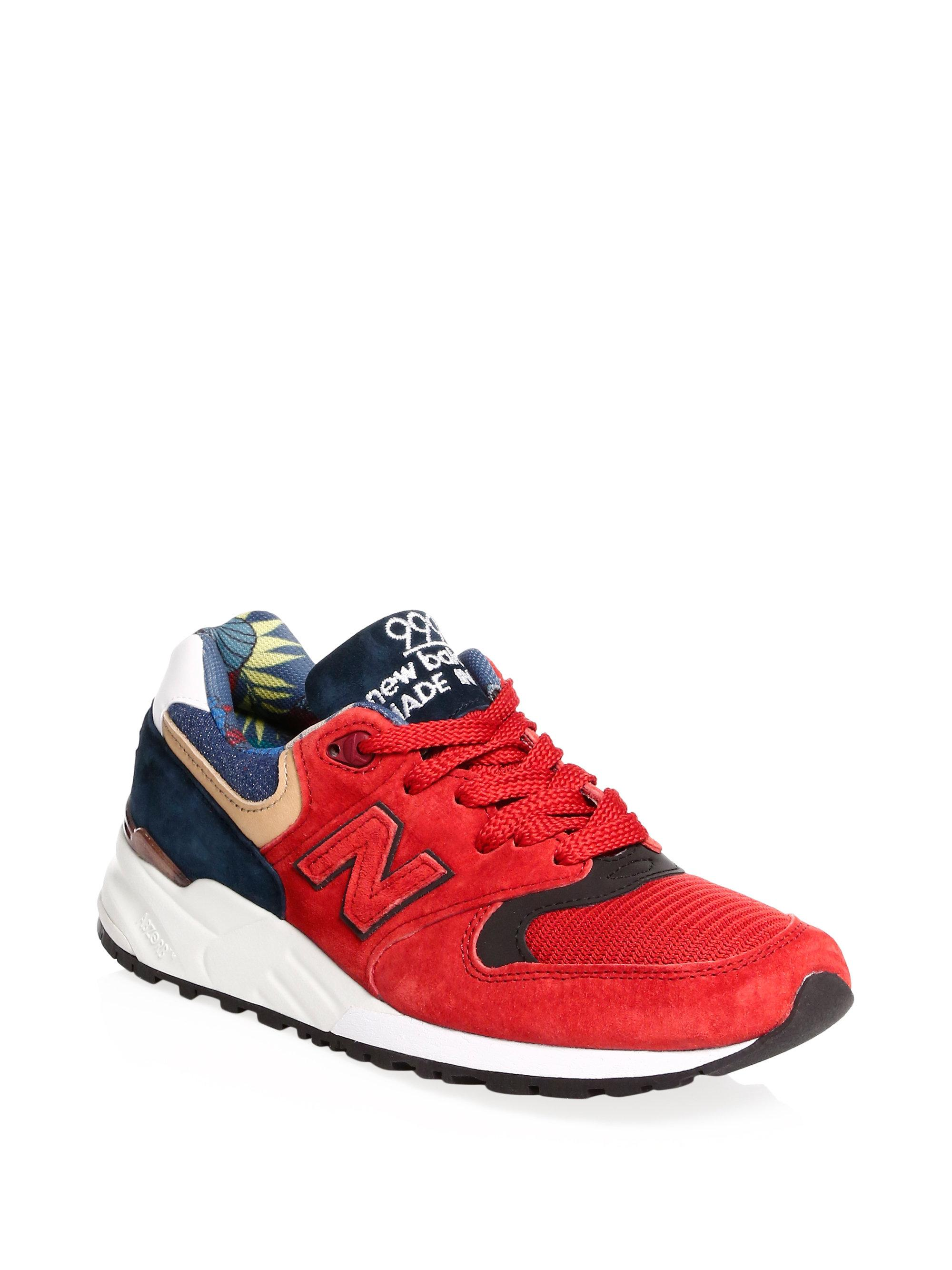 New Balance Asia Suede Sneakers