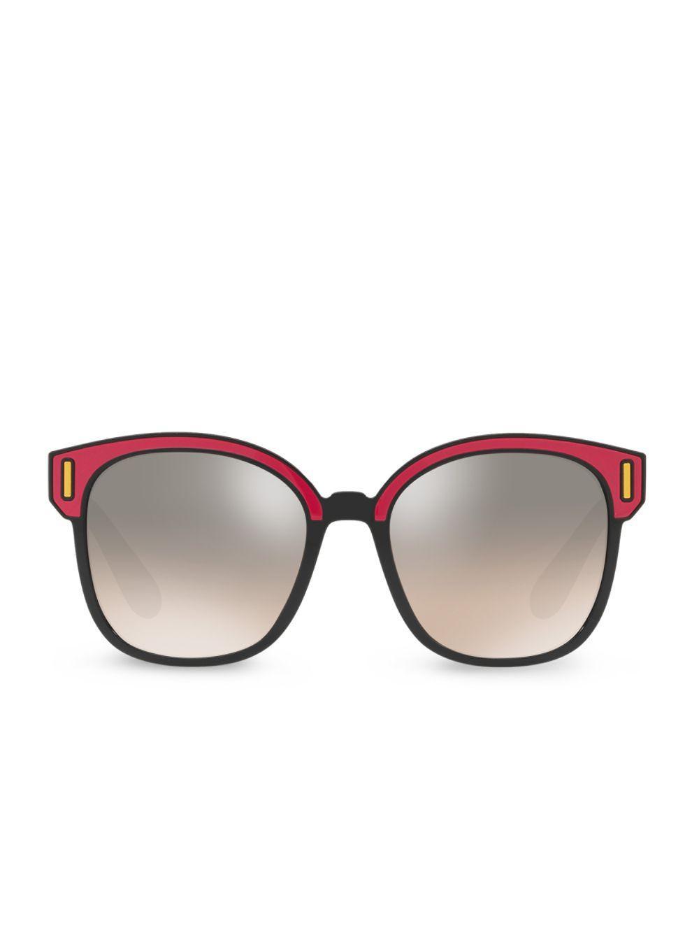 99dba76638 Lyst - Prada Color Pop Mirrored Lens Sunglasses