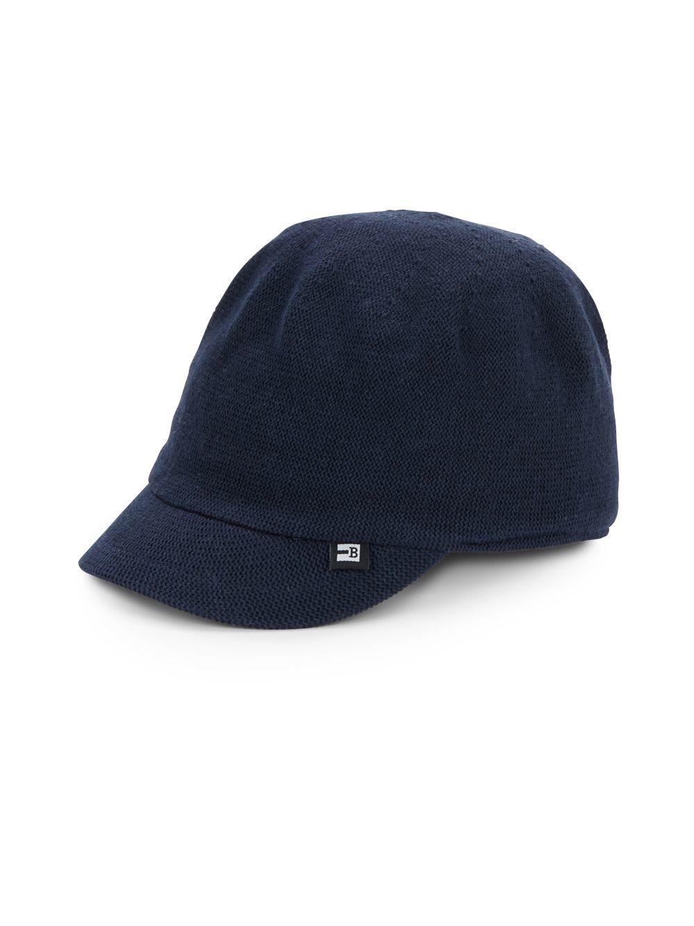 Block Headwear Cotton Knit Baseball Hat In Blue For Men Lyst