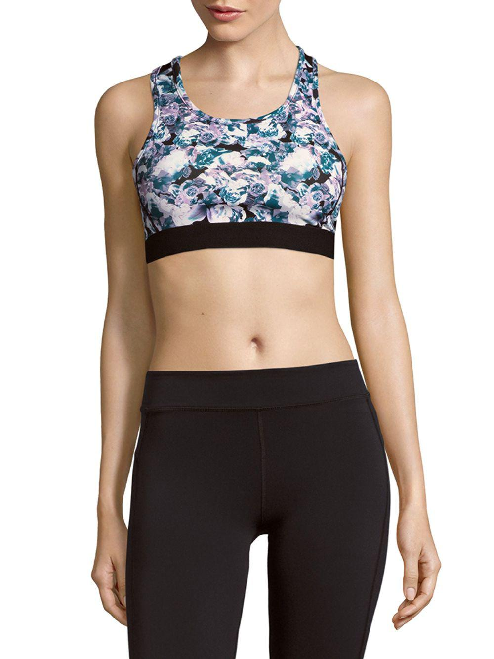 e4a28ed551 Lyst - Threads For Thought Lulu Sports Bra in Black