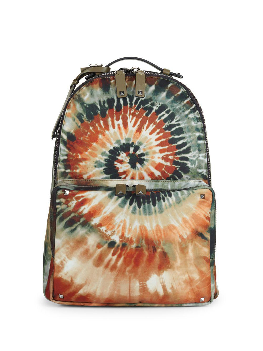 7fa21a7868 Lyst - Valentino Tie-dye Nylon Backpack