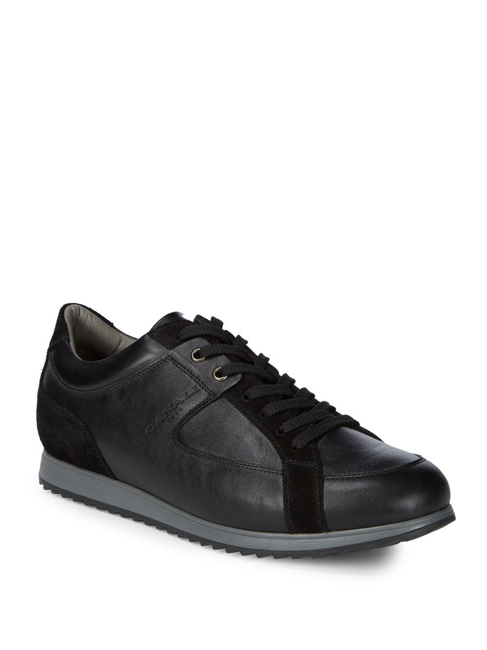 CANALI Leather Lace Ups NgXVJfy6